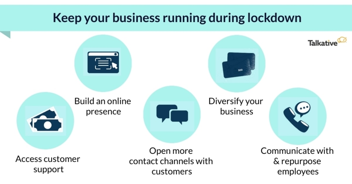 Ways to keep business running during lockdown