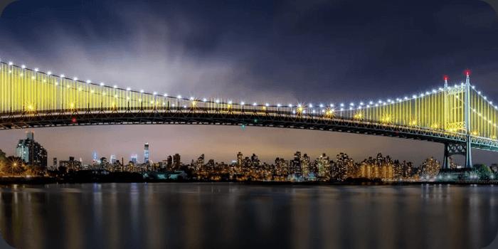 Triborough Bridge STEP - TV Locations NYC Map