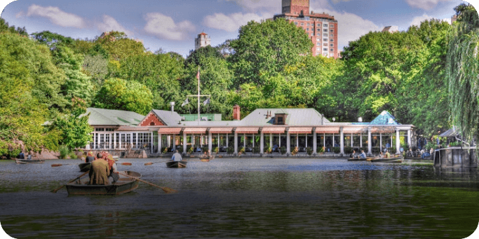 The Loeb Boathouse STEP - TV Locations NYC Map