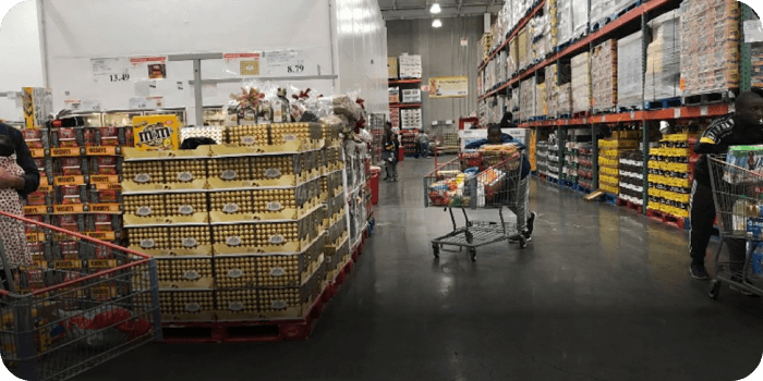 Costco STEP - First Responders Discounts Map
