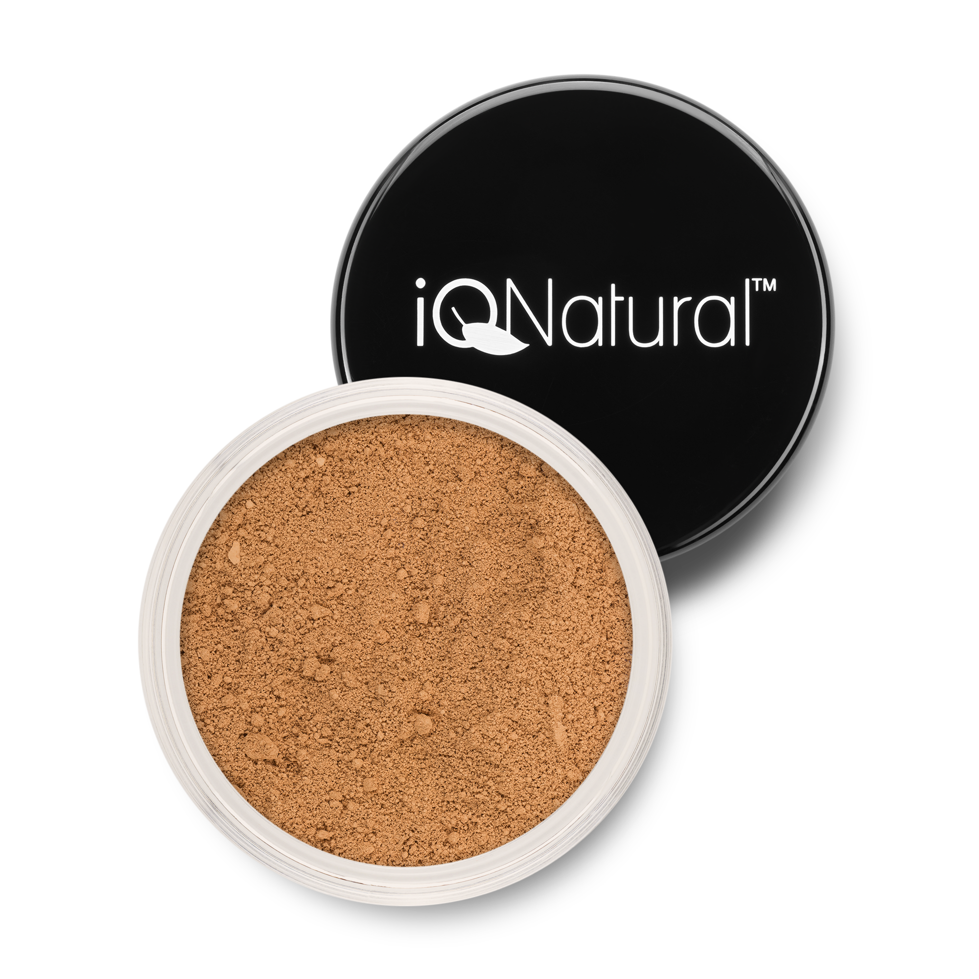 Organic powder product photo shoot