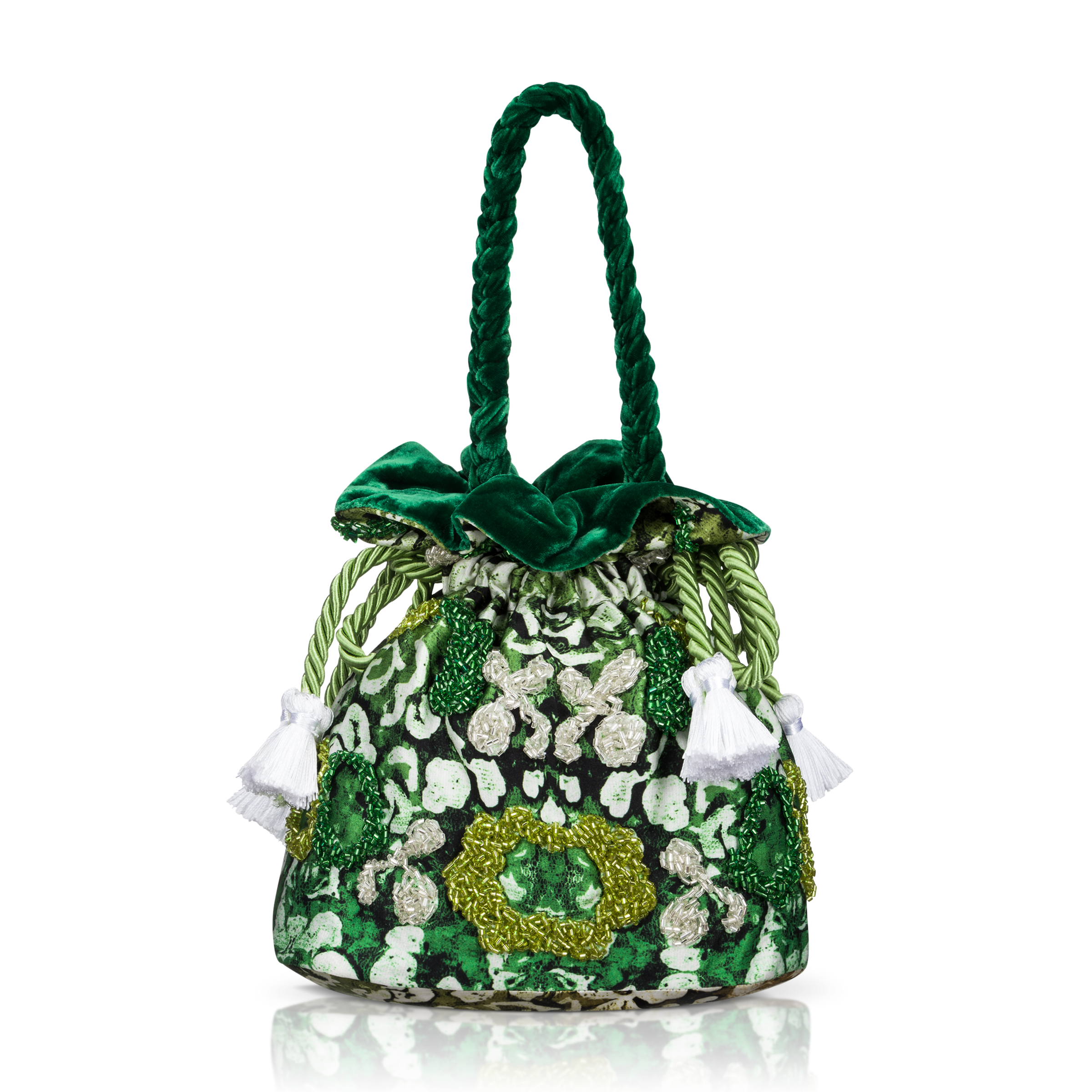 Bucket green bag product picture