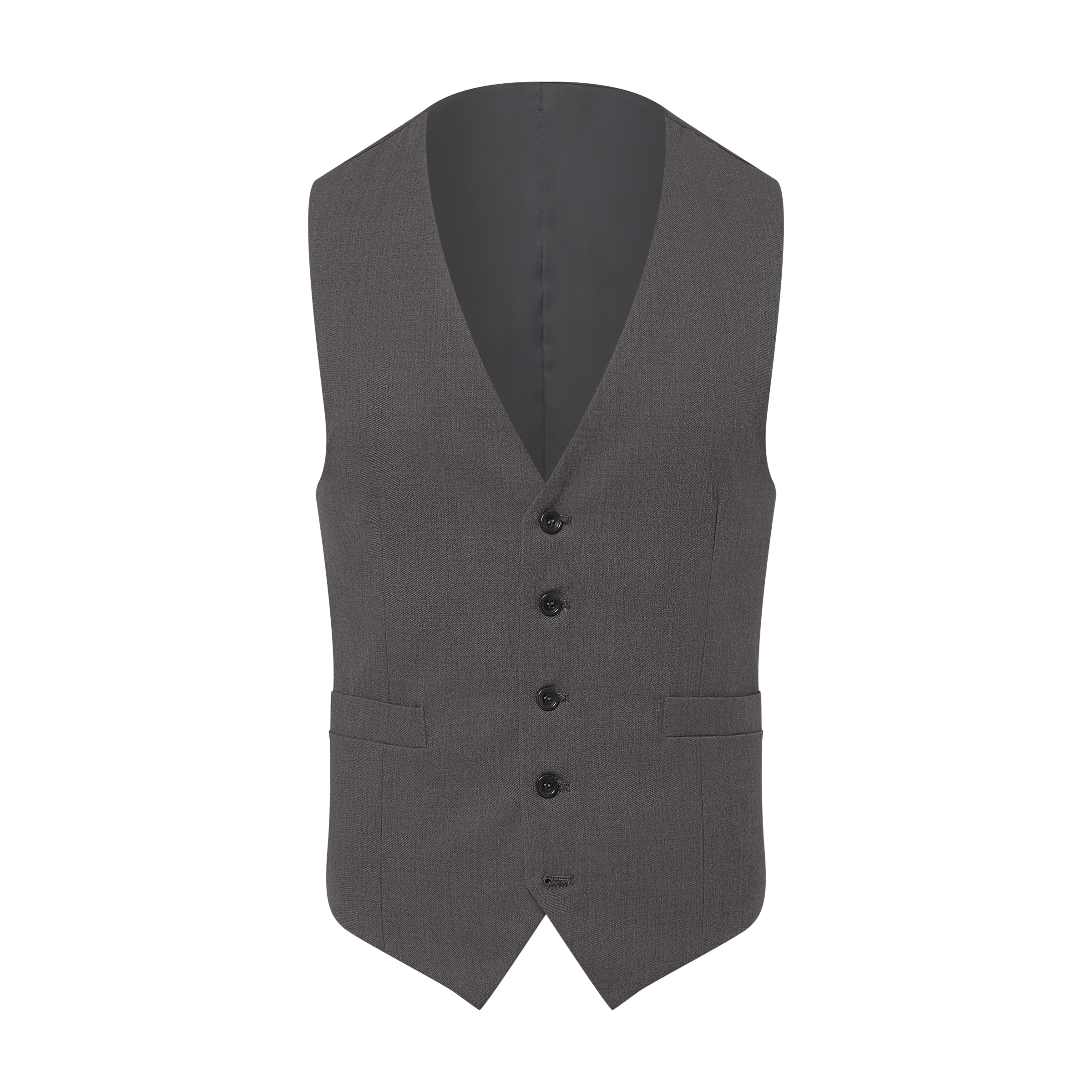 Vest ghost mannequin product photo
