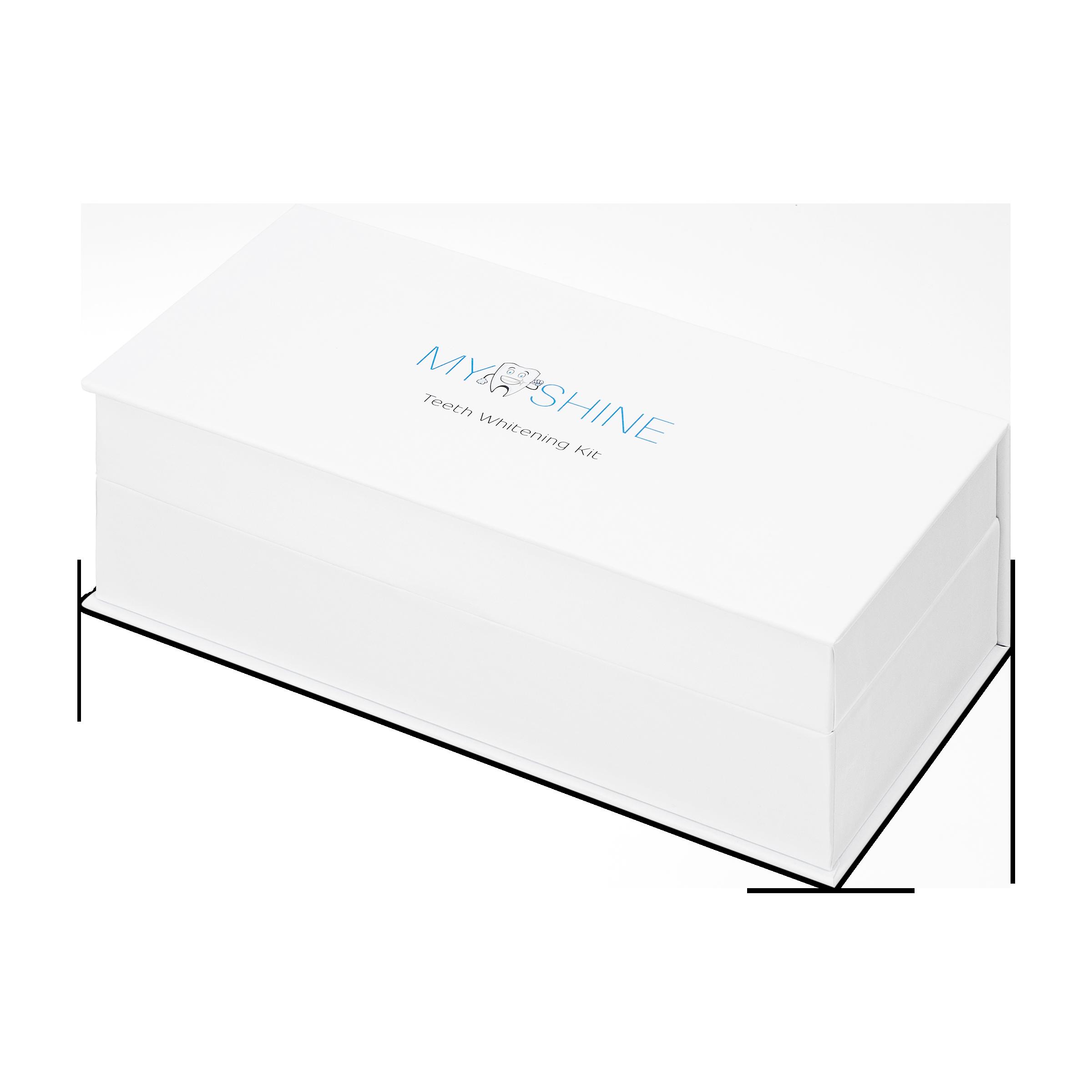 teeth whitening kit product photography