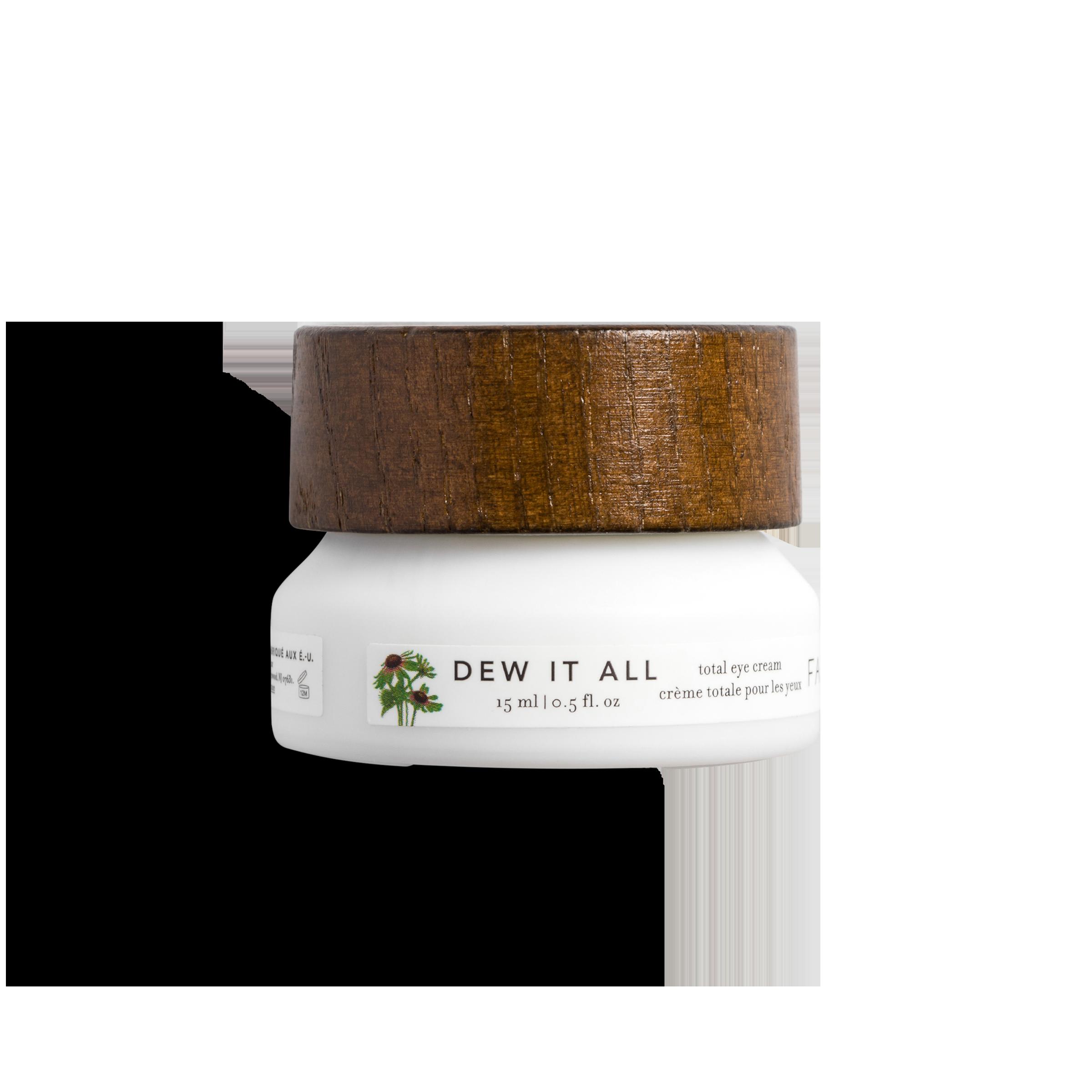 Cream jar product photography