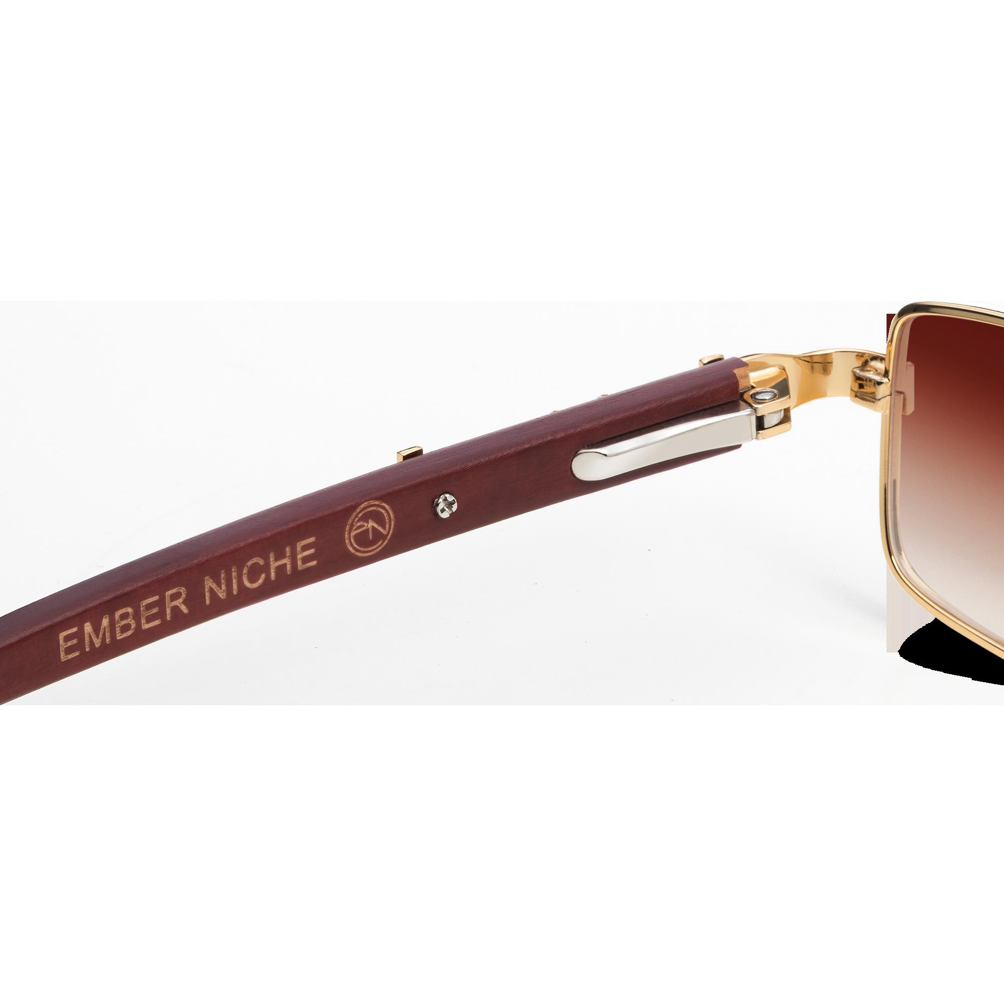 gold sunglasses product image
