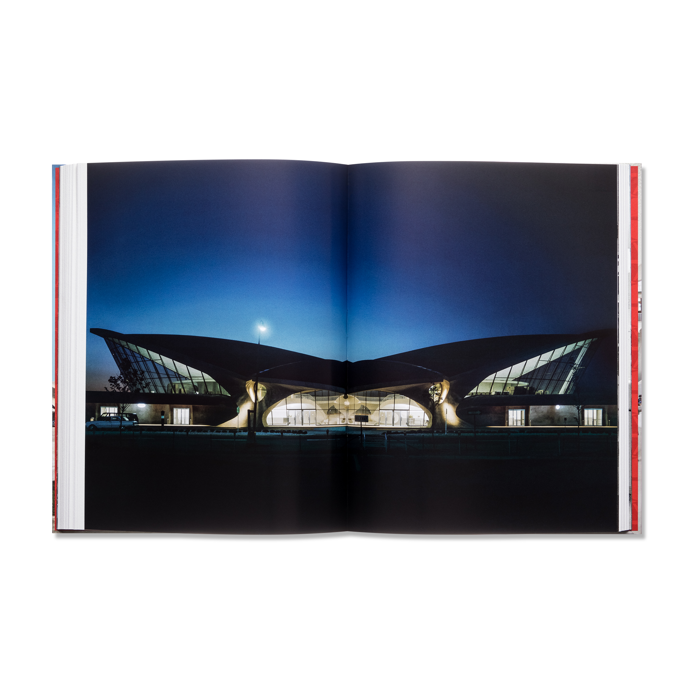Opened book product photography