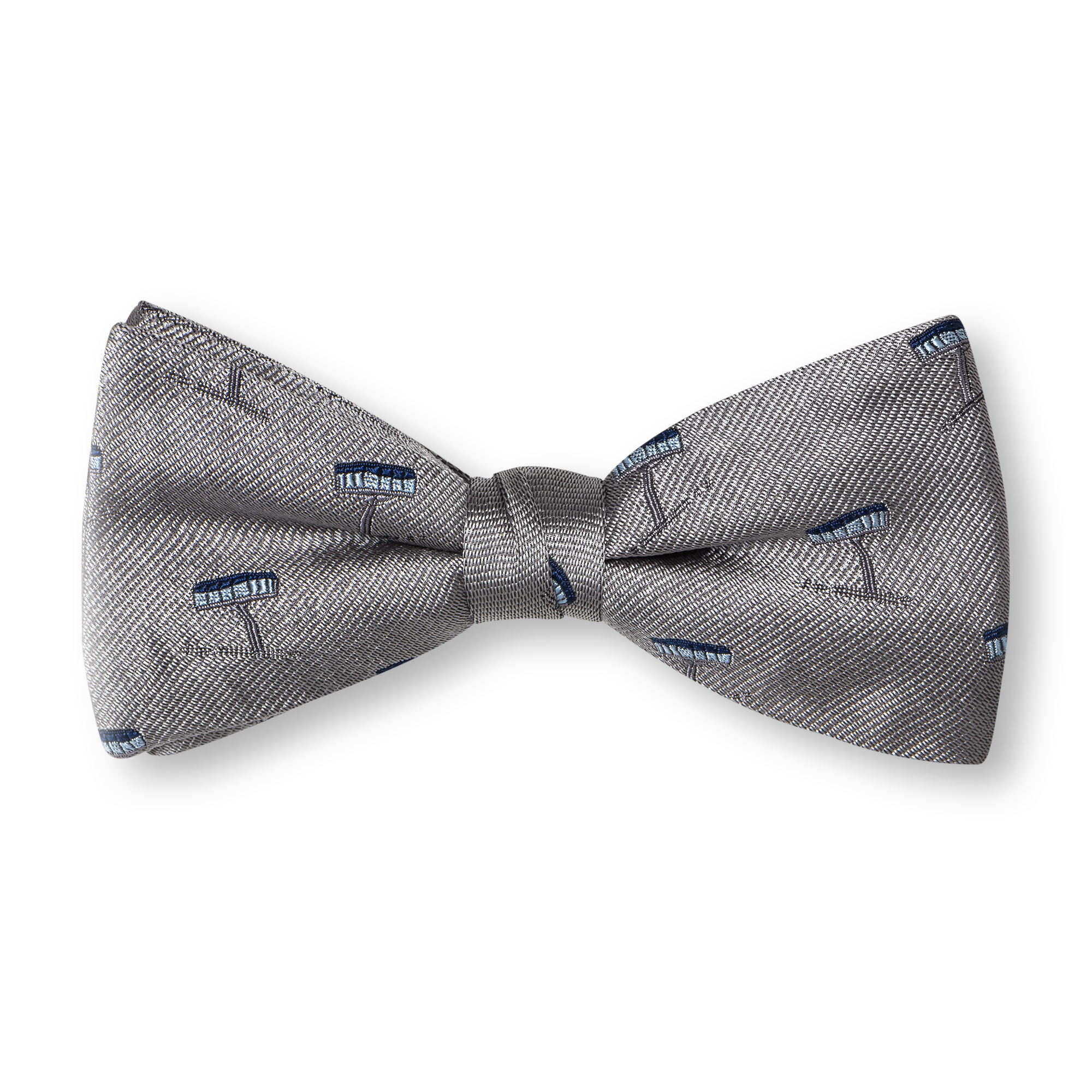 grey Bow ties product photography