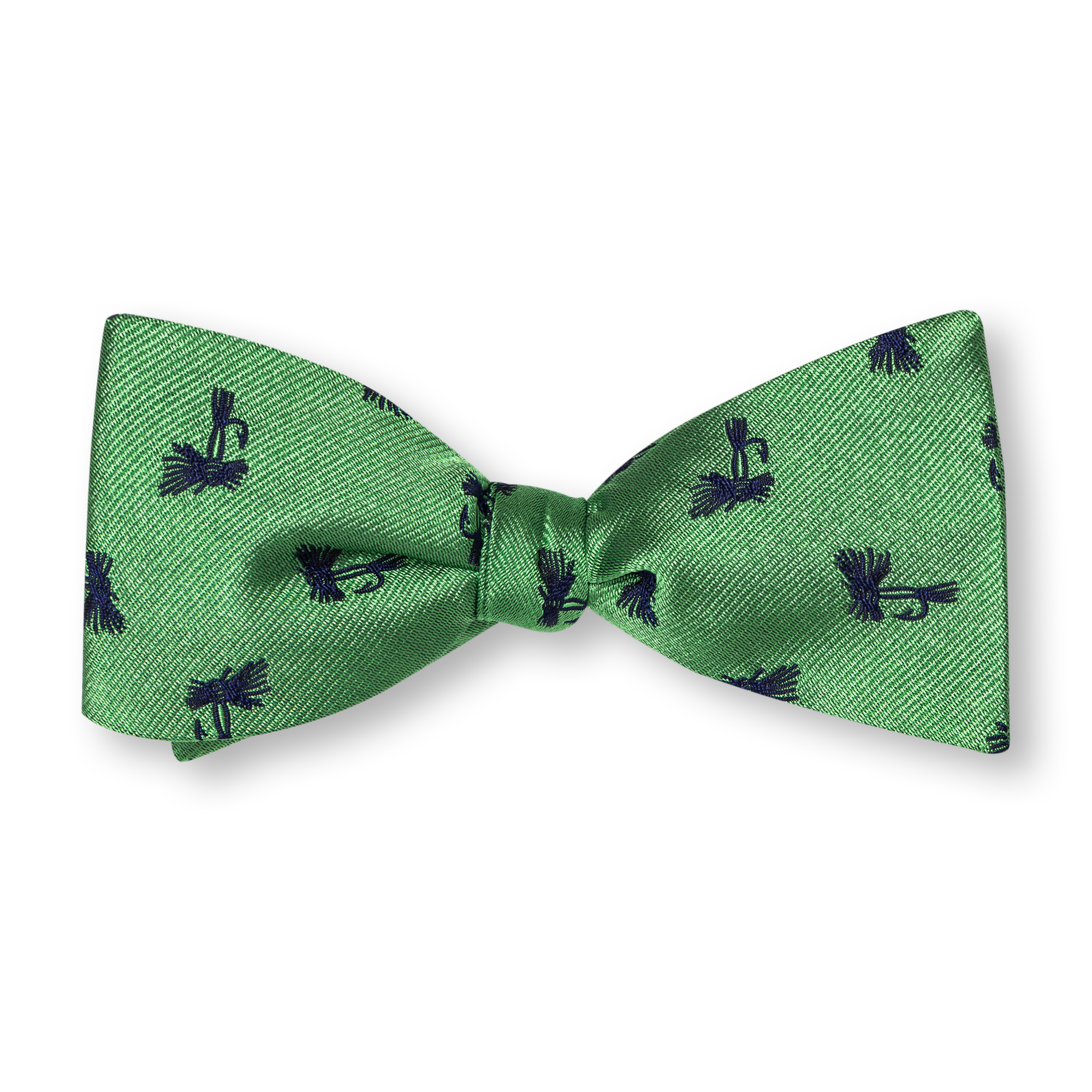 green Bow ties product photography