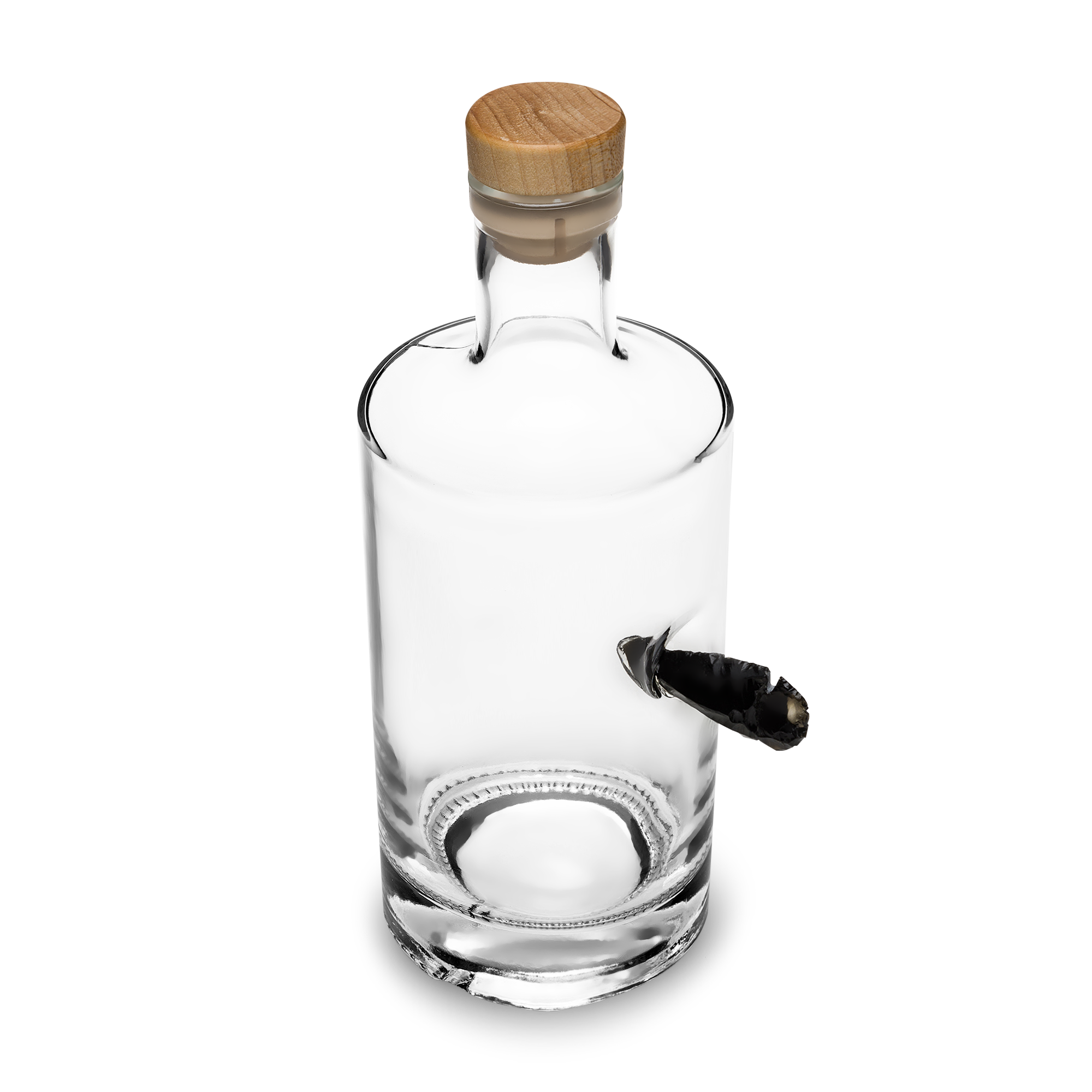 glass bottle product photo