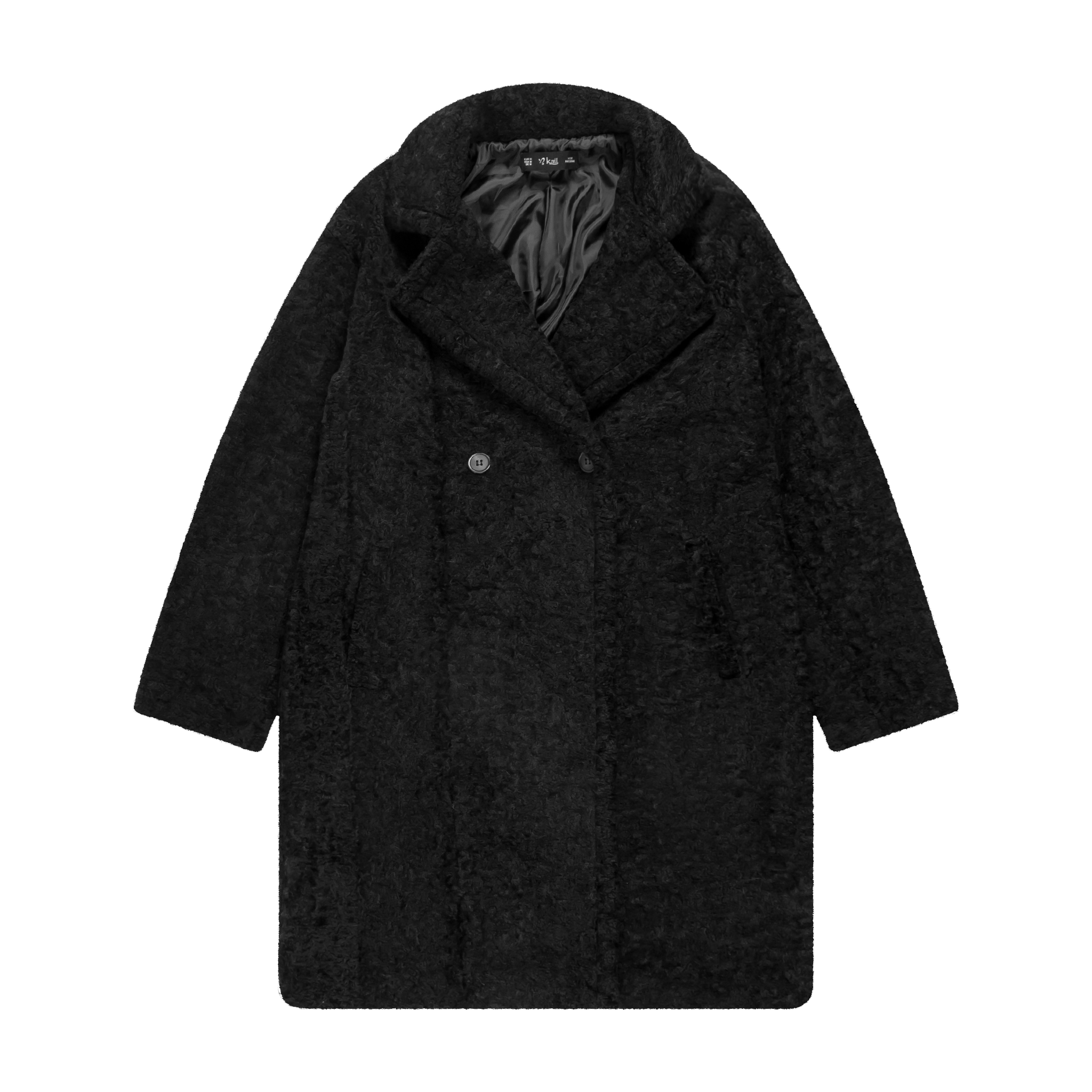 coat product photography