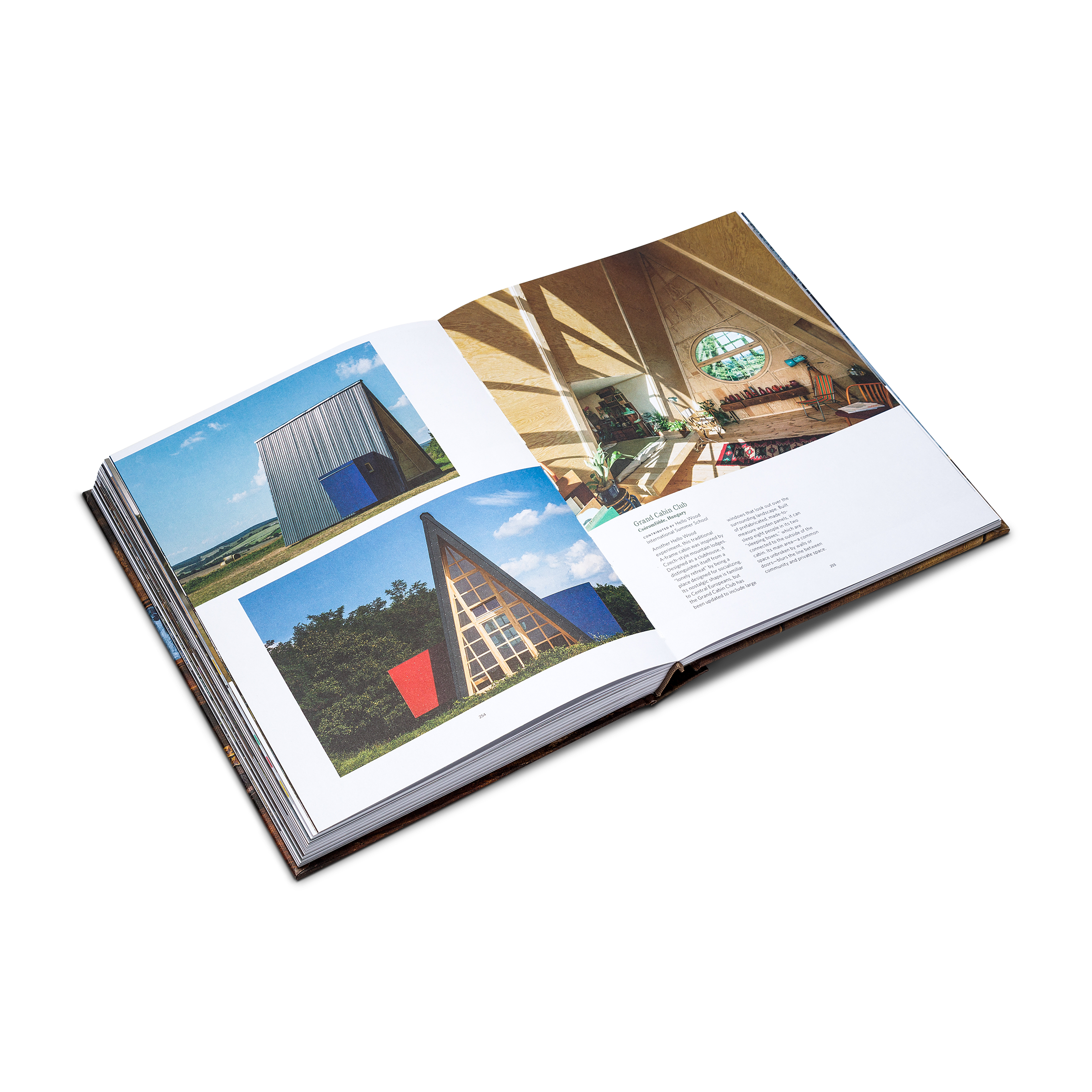 Opened book product photo