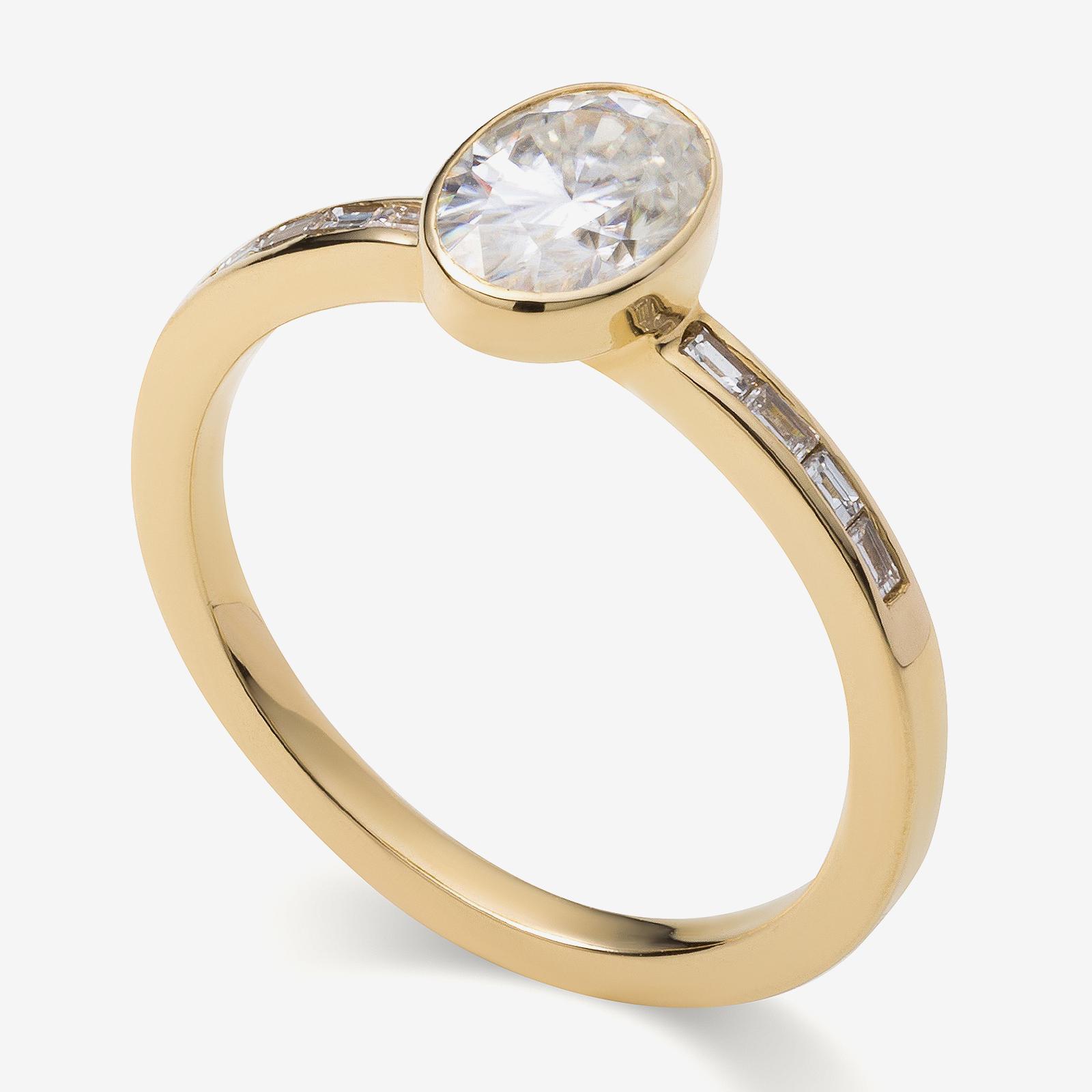 diamond ring product photo