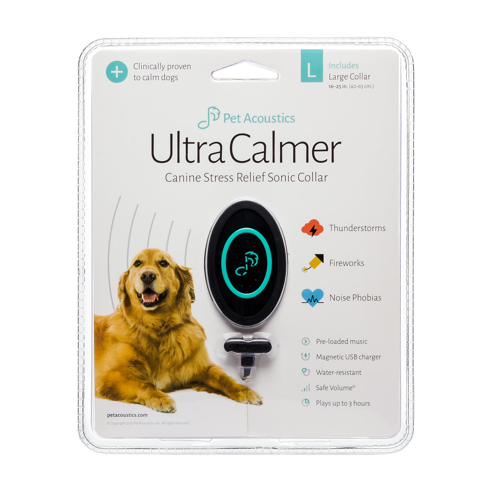 Pet calmer device product photography