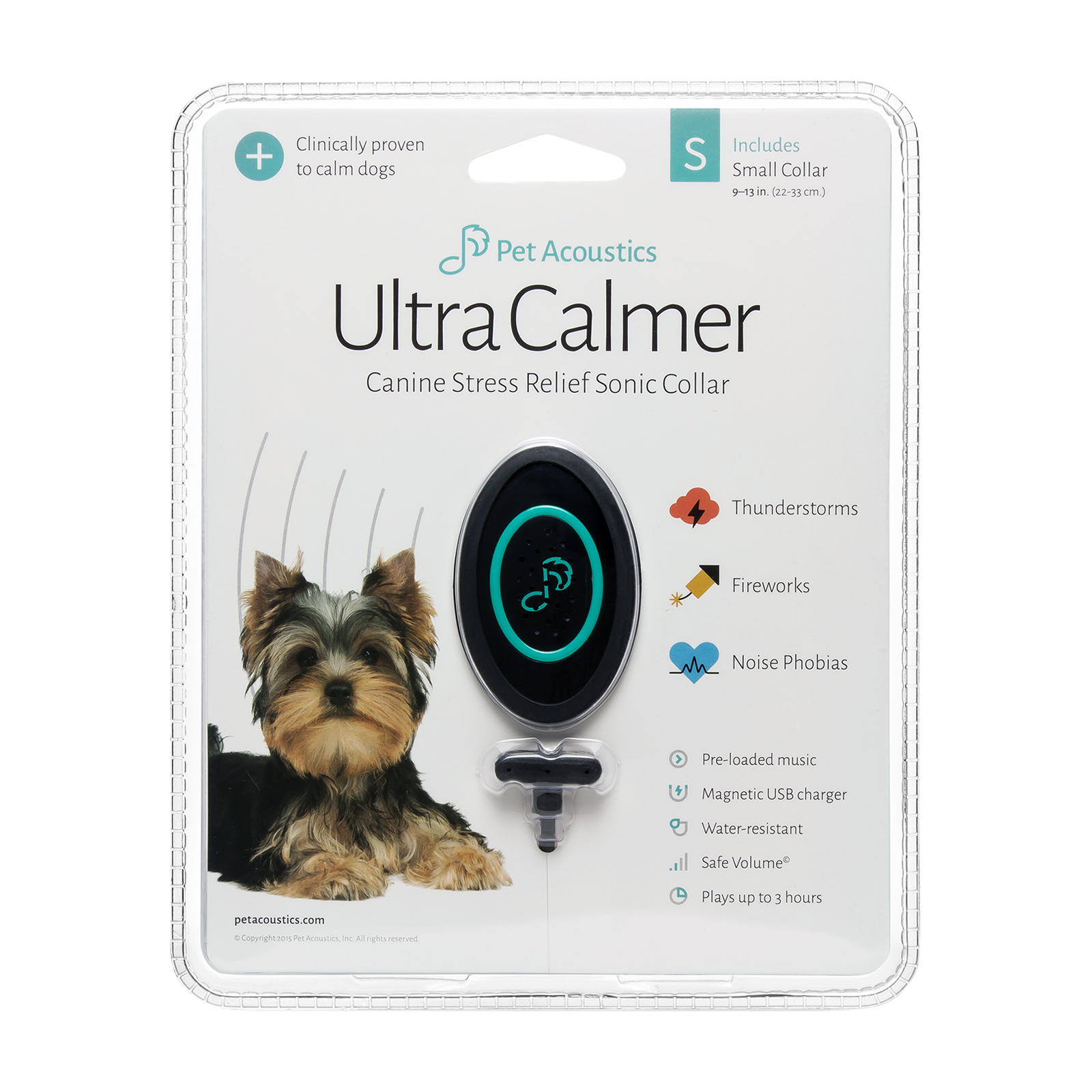 Pet calmer device product photo