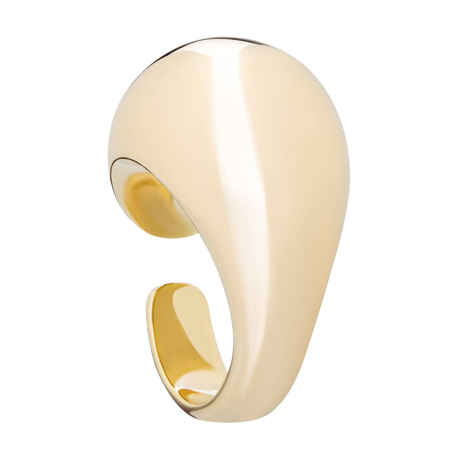 Gold ring product photography