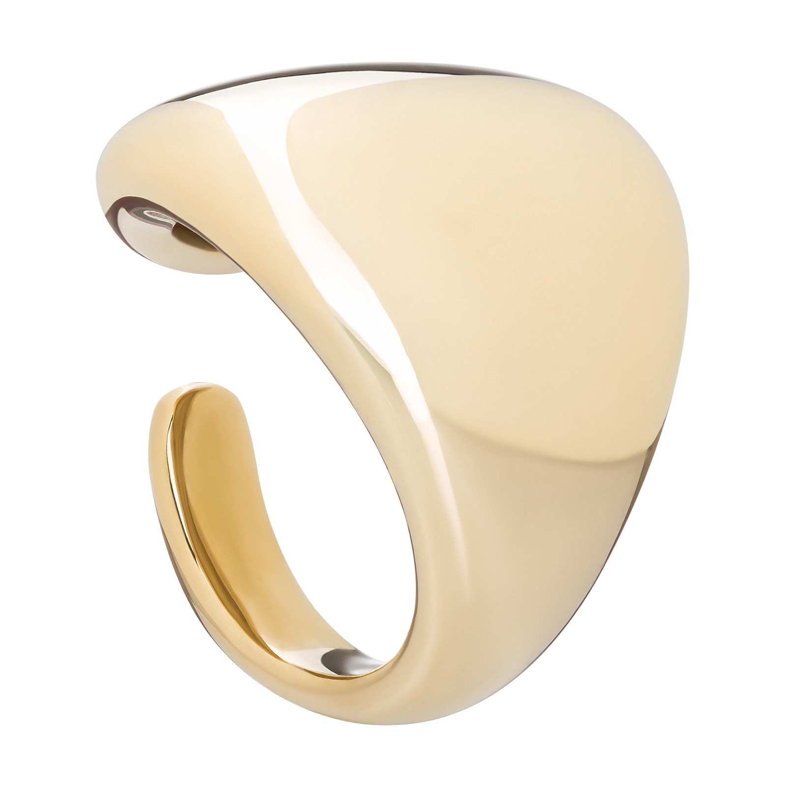 Gold ring product photo