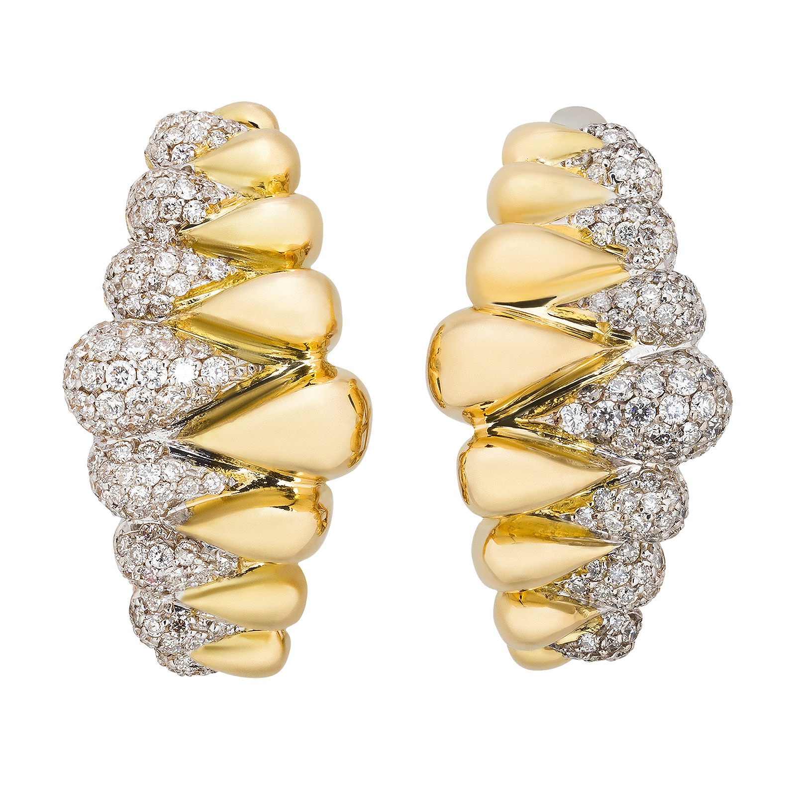 Gold jewelry product picture