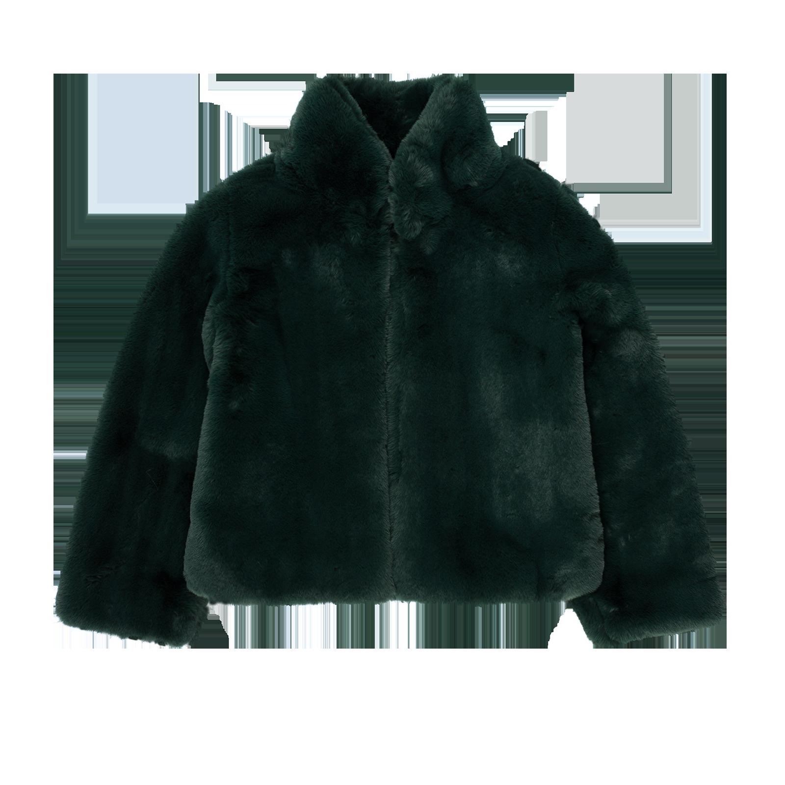 Faux fur coat product image