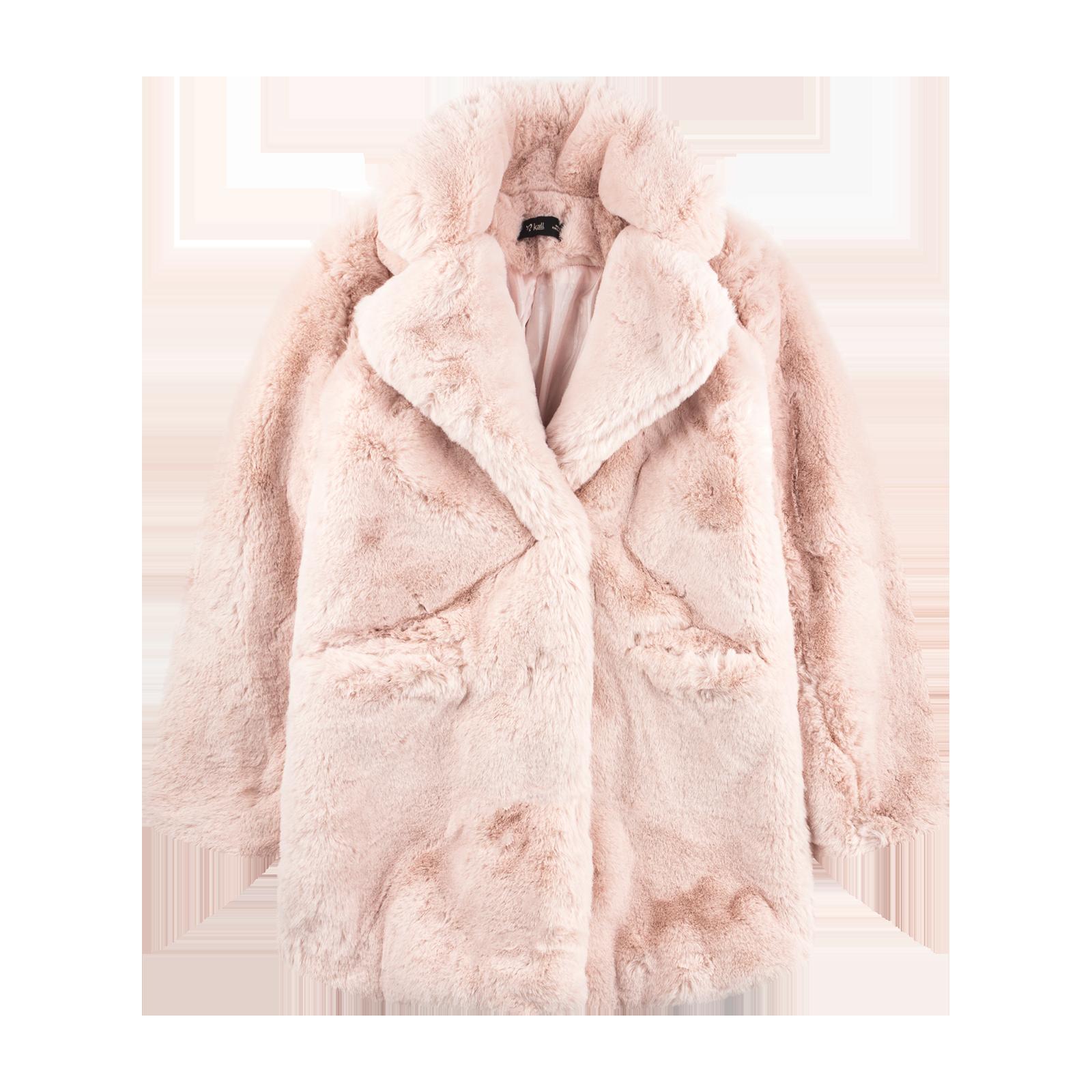 Fur coat product photo