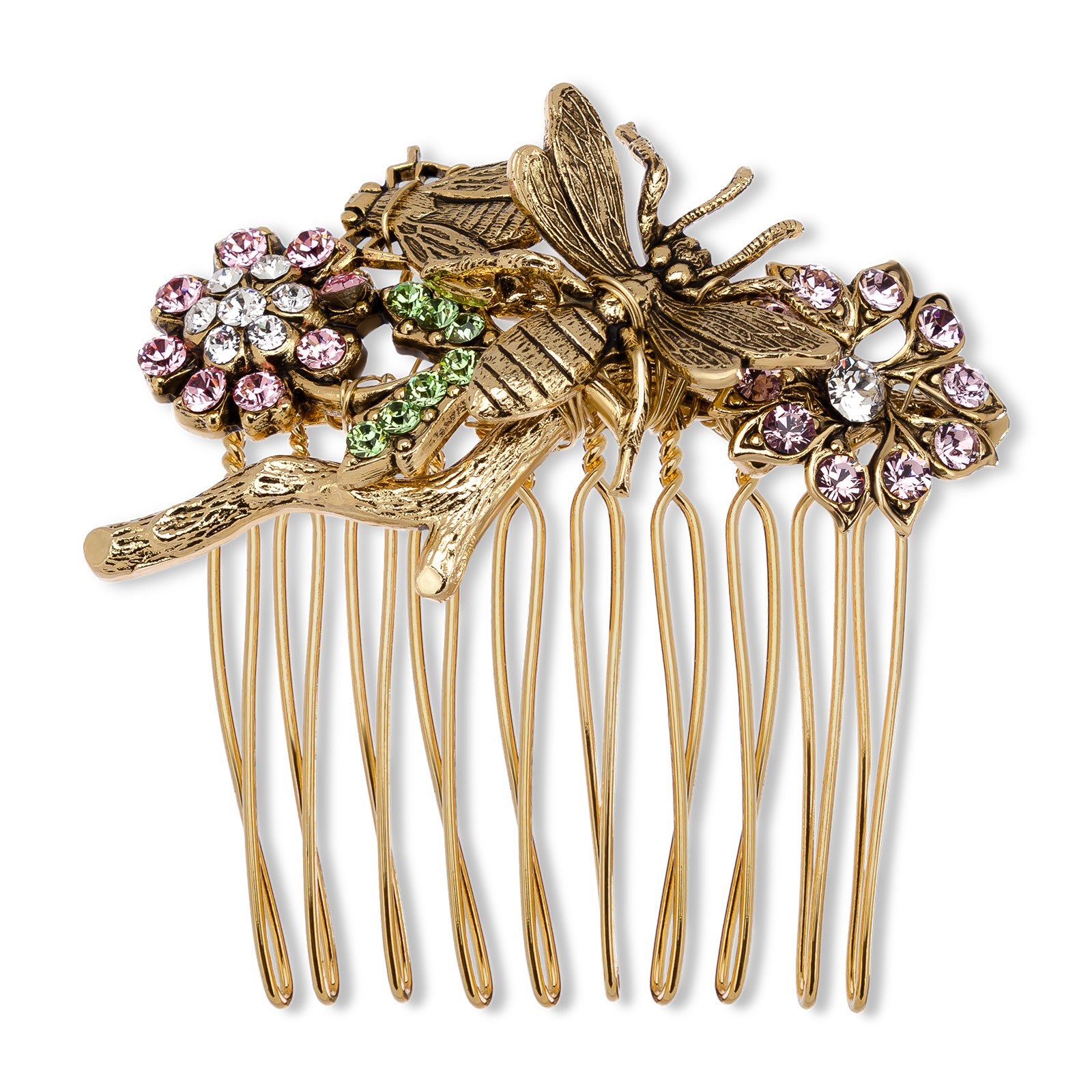 Decorative hair comb product photo
