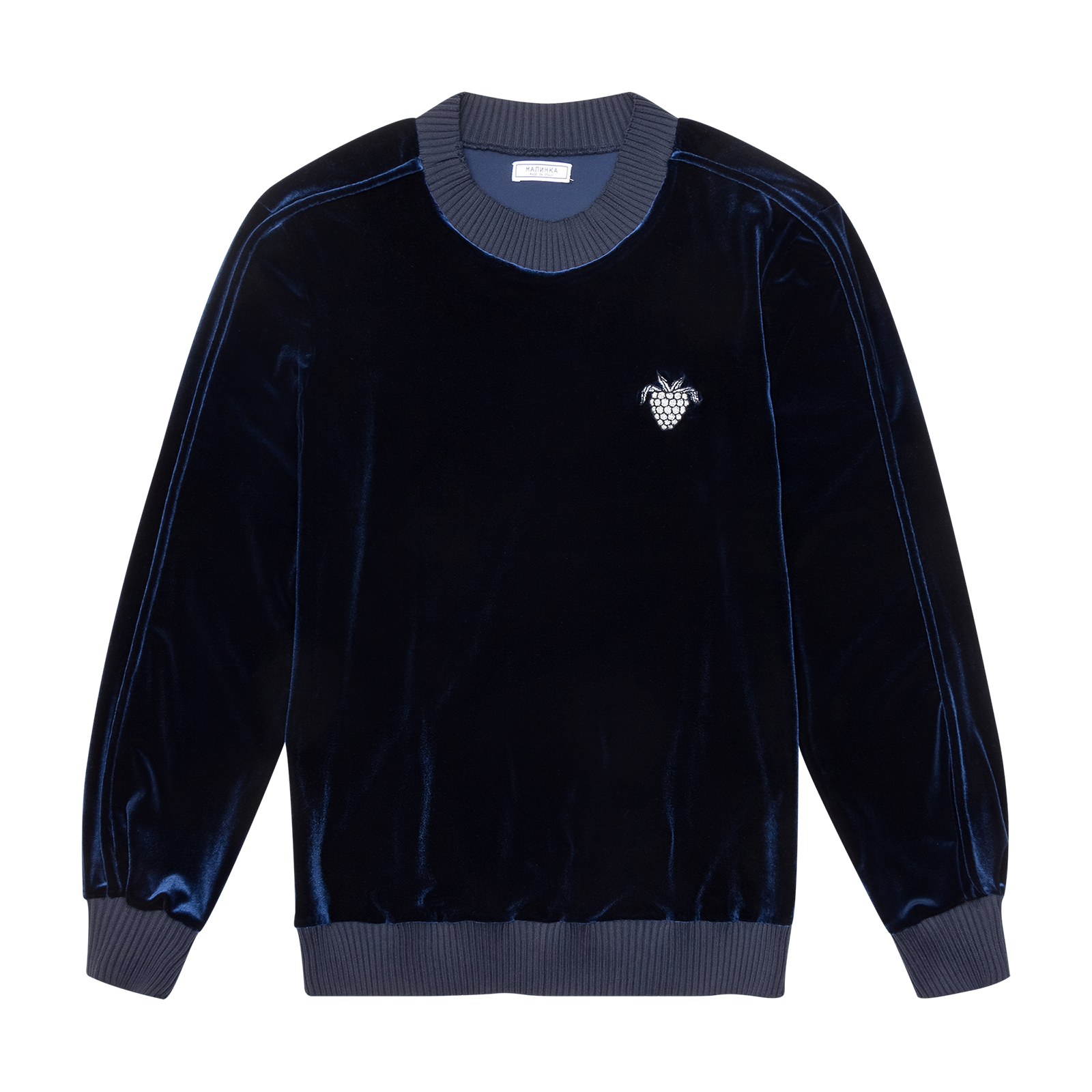 Flat lay sweater product picture