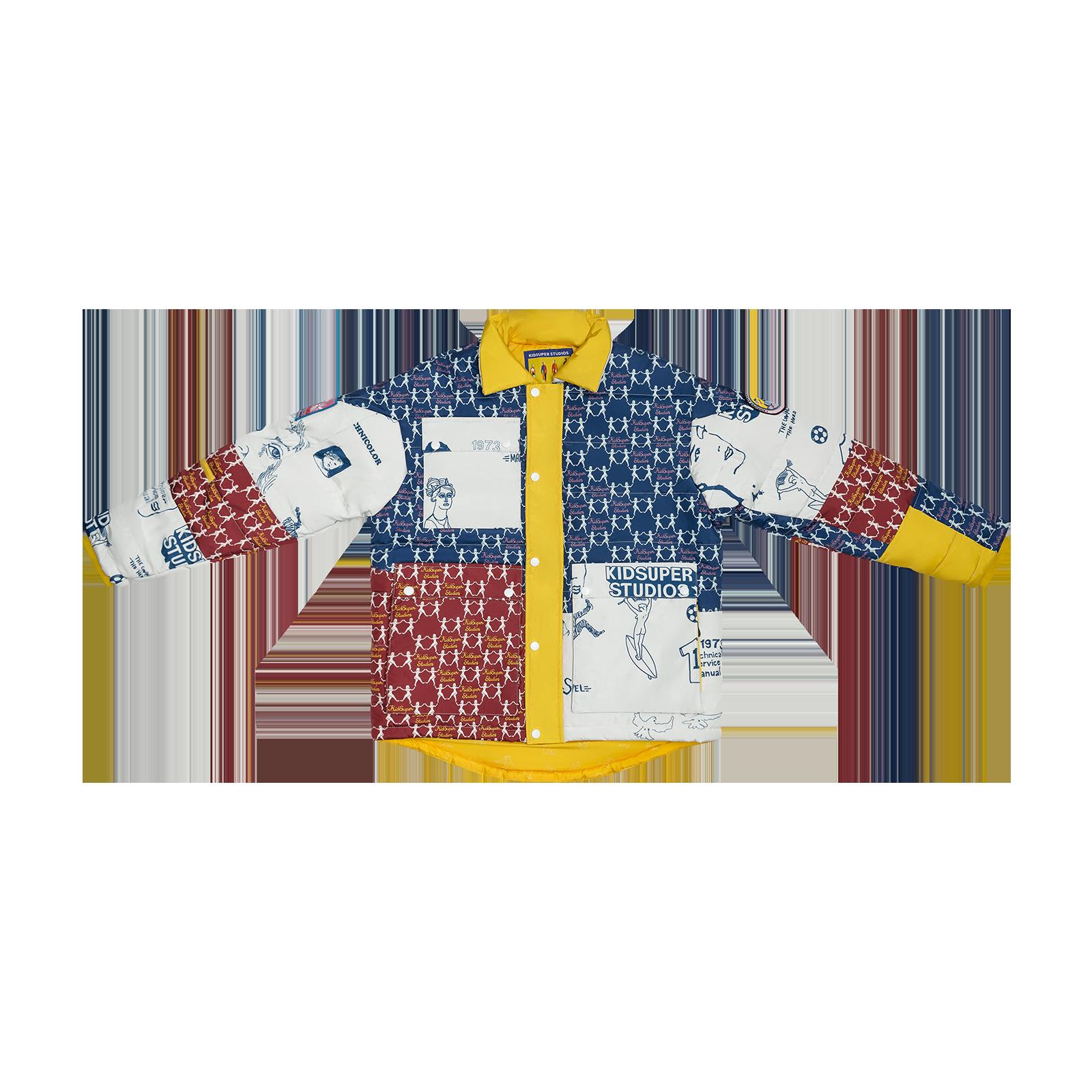 Jacket flat lay product photo