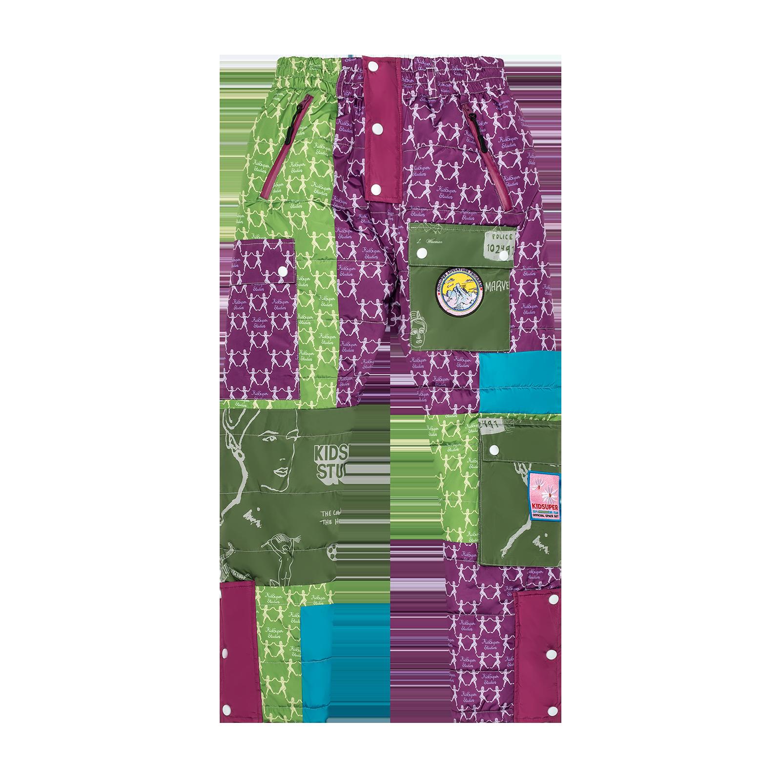 Pants flat lay product photo