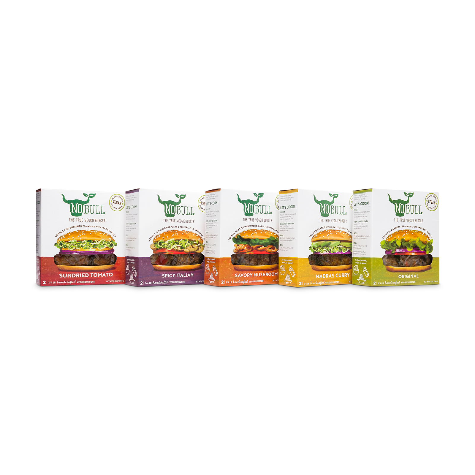 Burger packs product picture