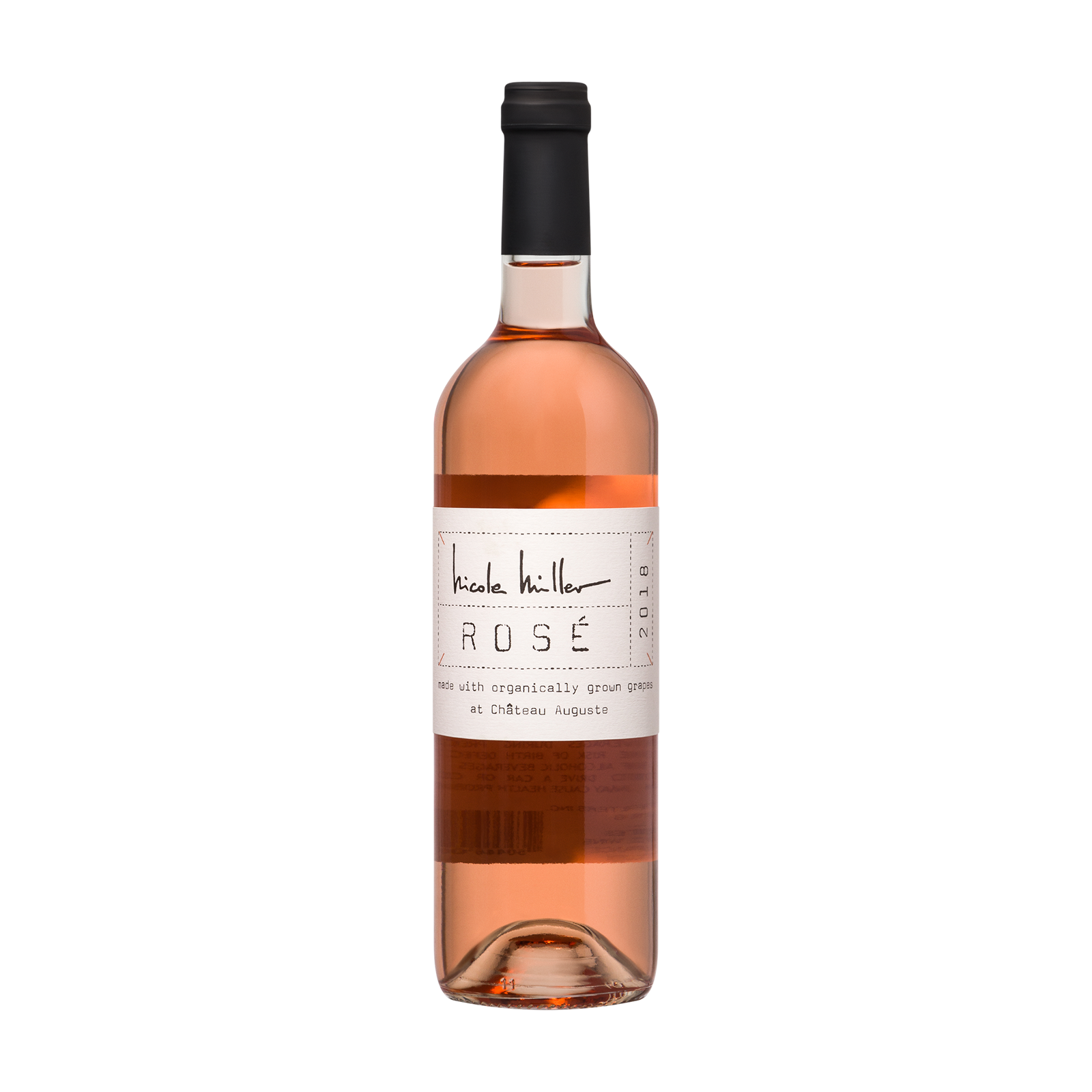 Rose wine product photo
