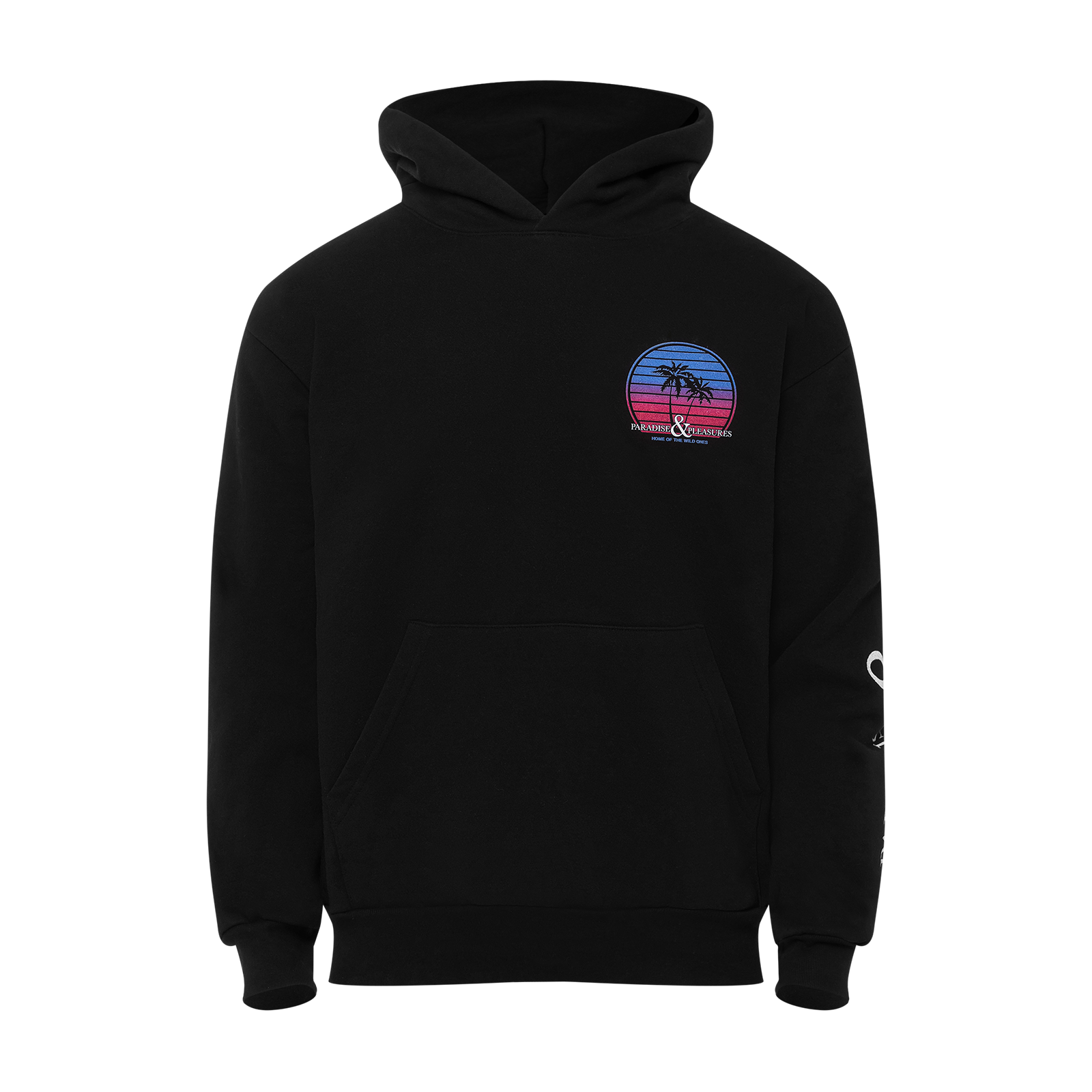 Ghost mannequin hoodie product photo