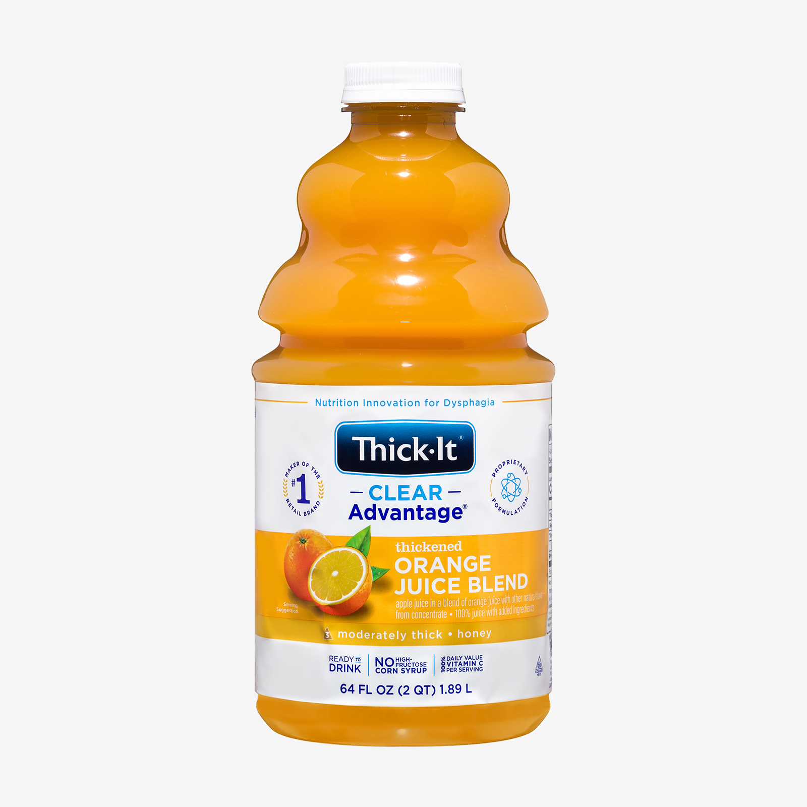 Orange juice product photo
