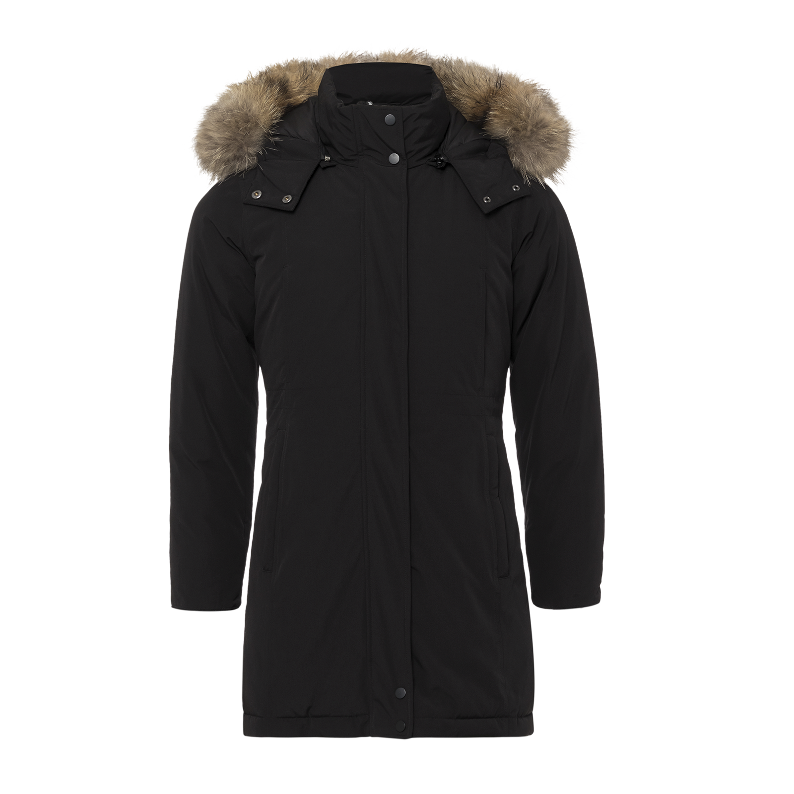 Ghost mannequin parka product image