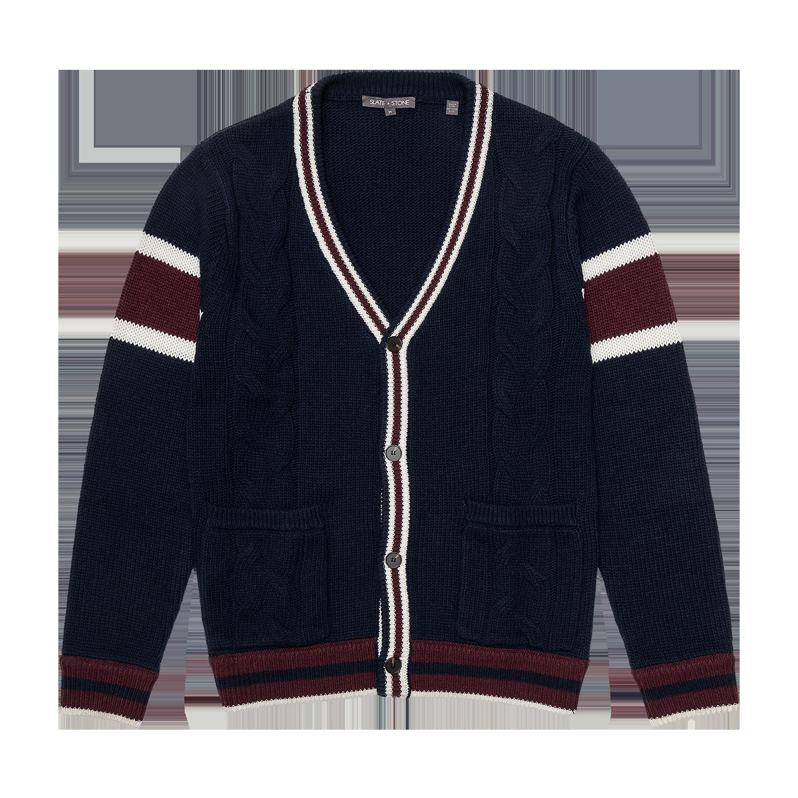 Knit jacket product photo