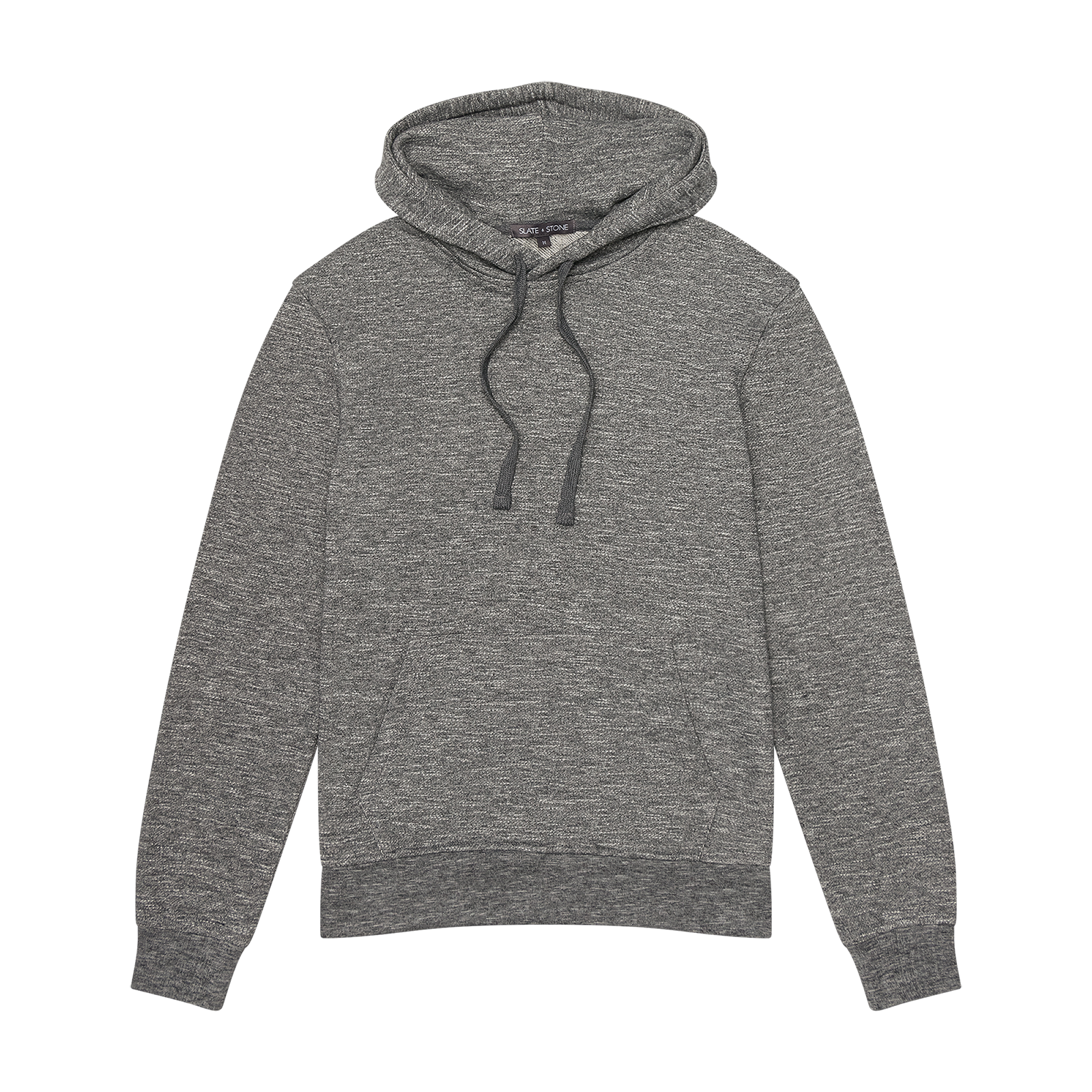 Flat lay hoodie product photography