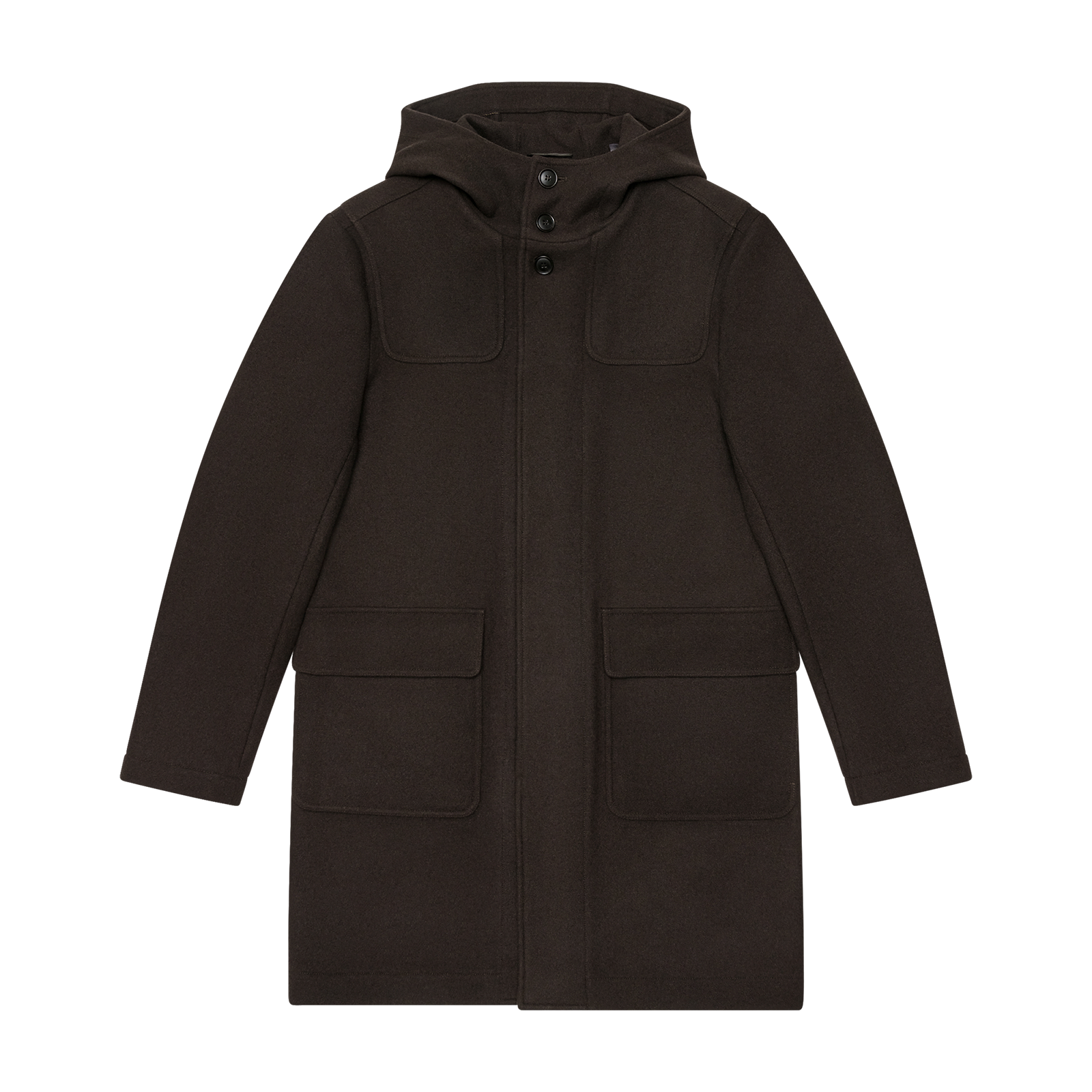 Brown coat product photo