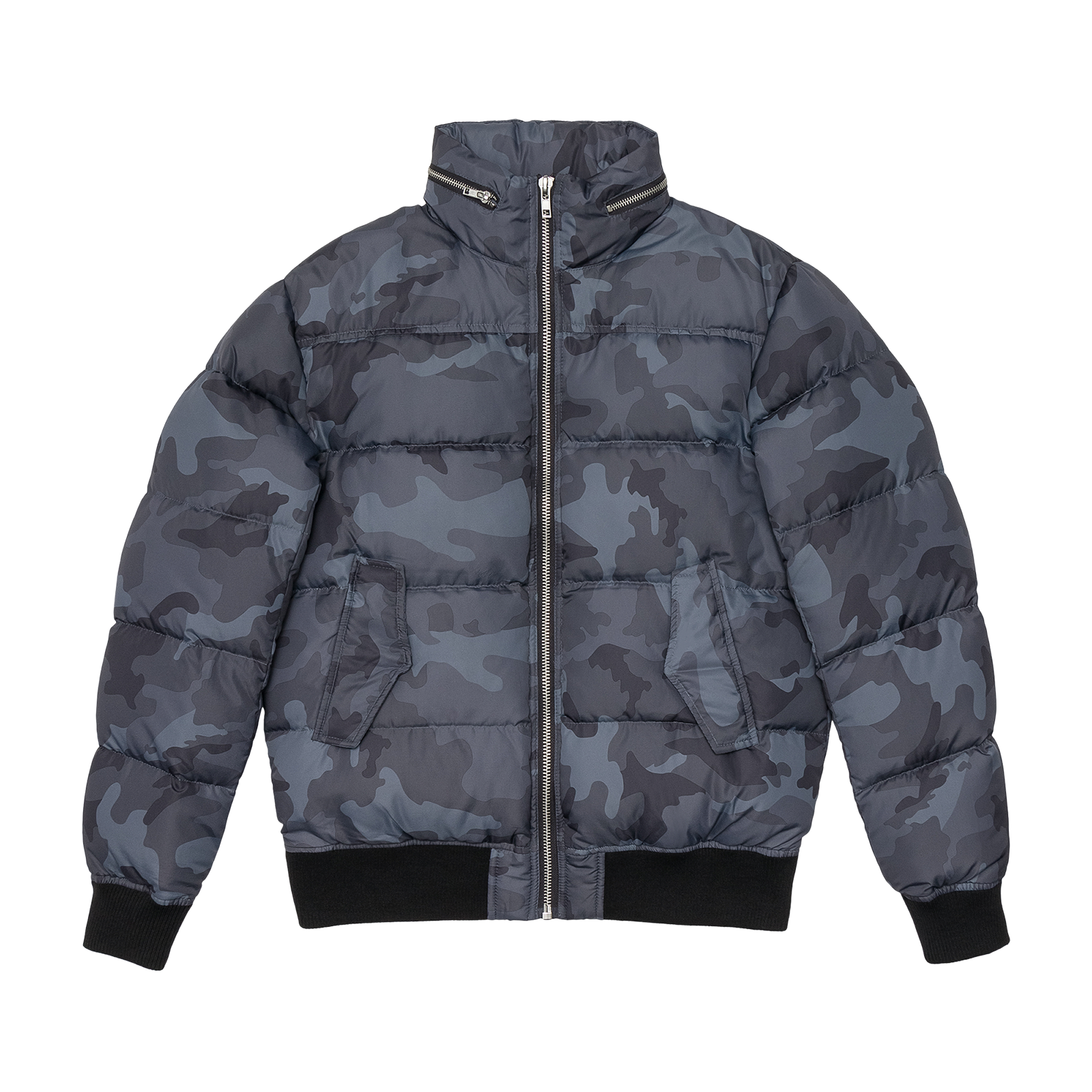 Puffer jacket product photography