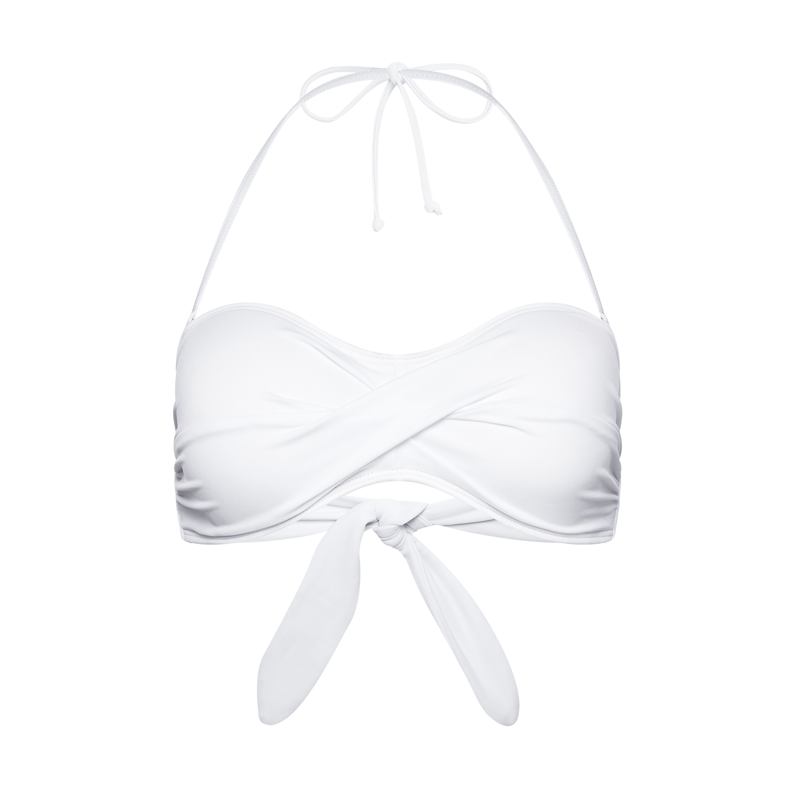 Swimsuit bra product photography