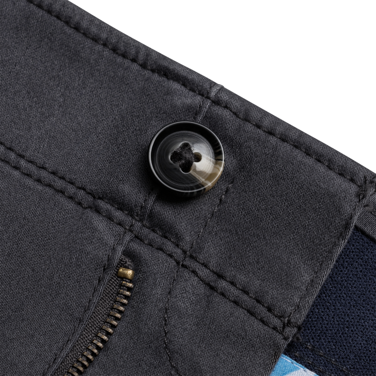Close up button product photography