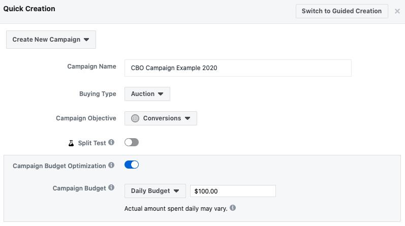 create a facebook ads campaign