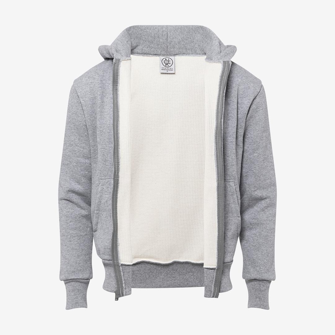 Enkalda Premium Heavyweight Thermal Lined Zipper Hoodie