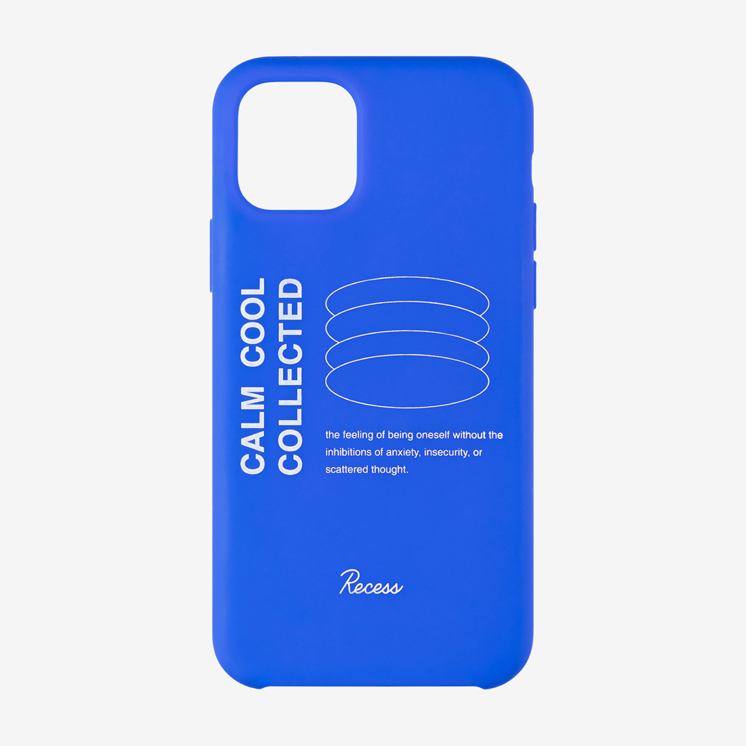 Recess phone case