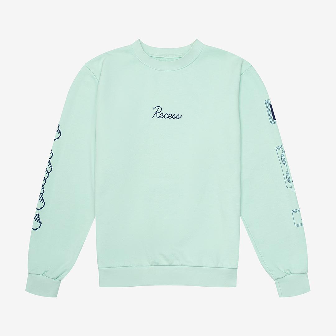 Light green Recess sweatshirt
