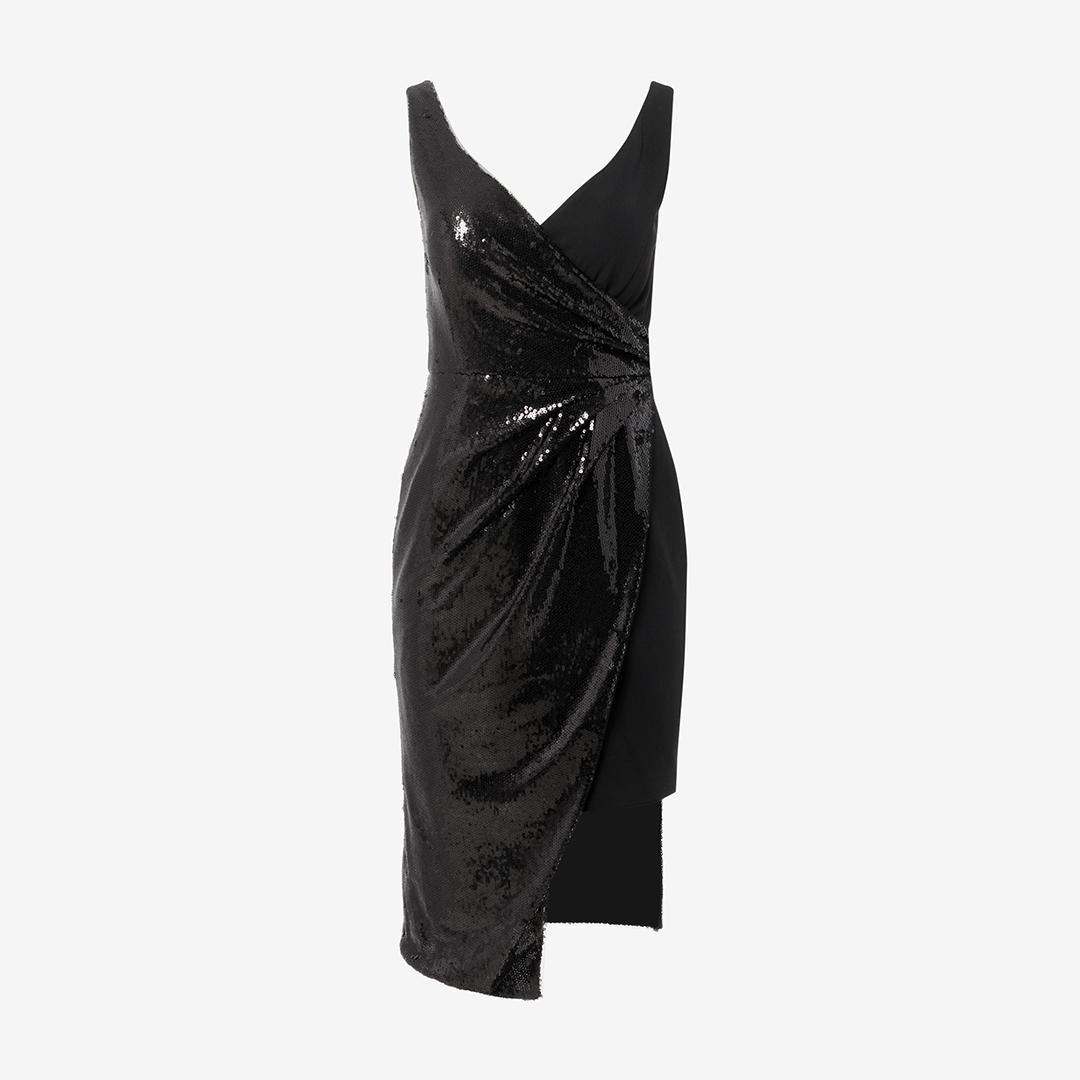 fashion black dress