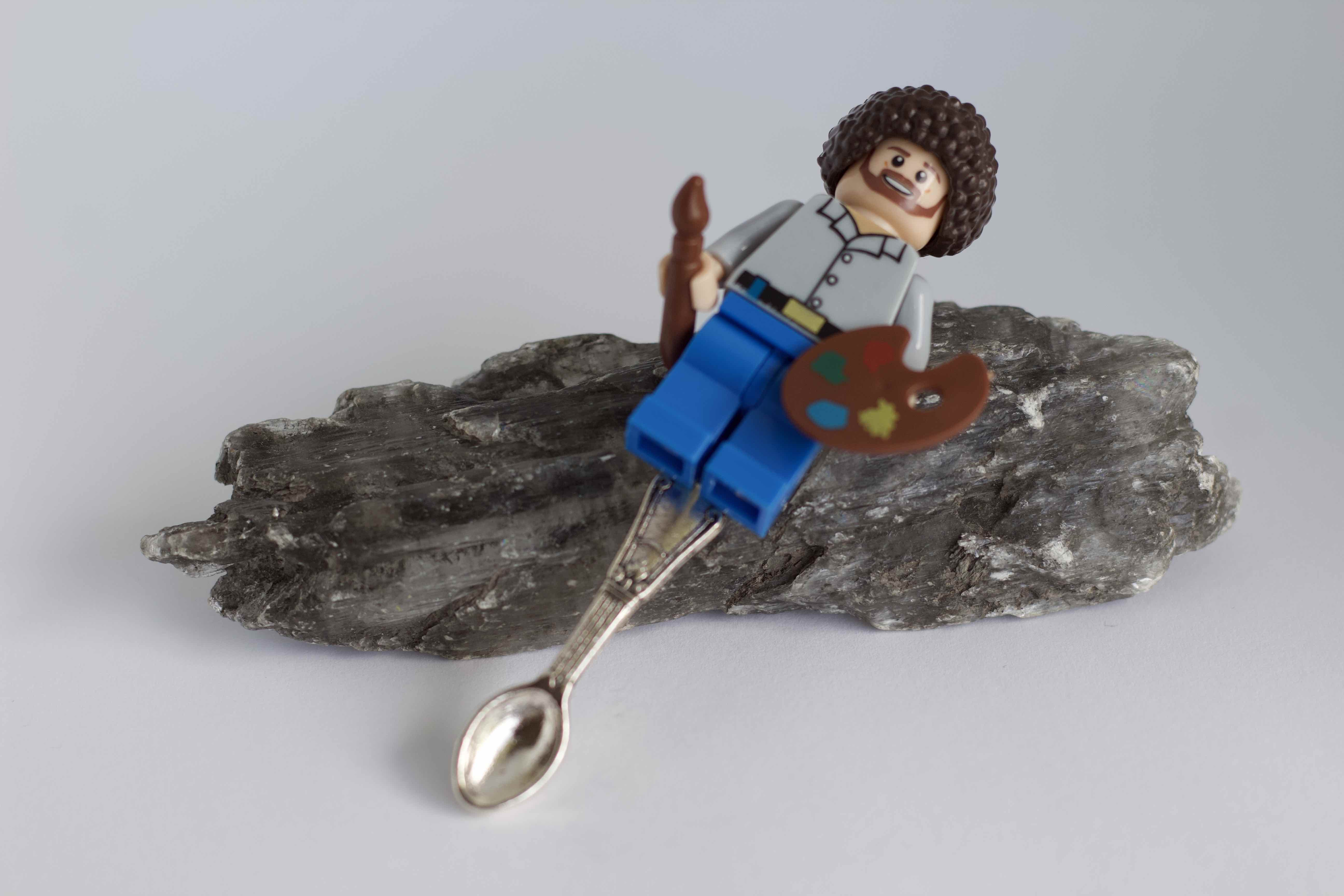 Bob Ross Lego Big Spoon