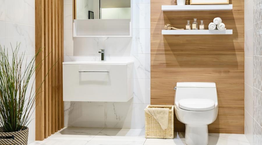 Litet badrum