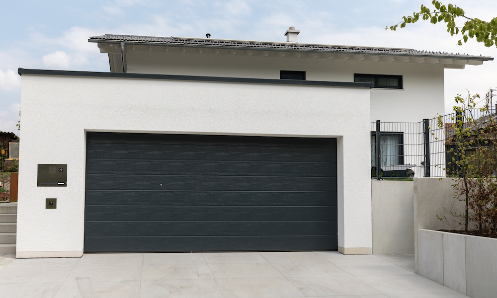 Garage i betong