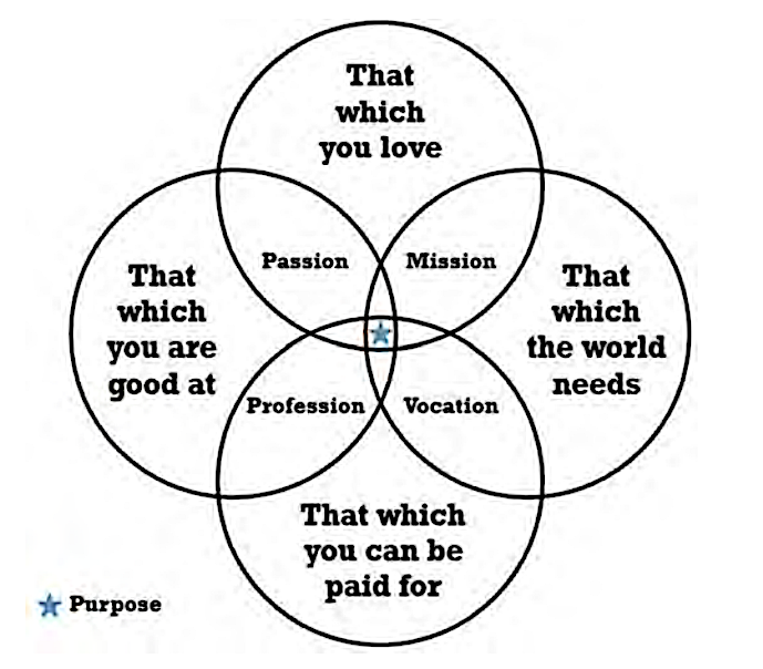 Venn diagram borrowed from the  Gap Year Association