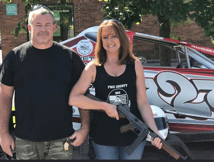 Patti Coombs and Bob Roche