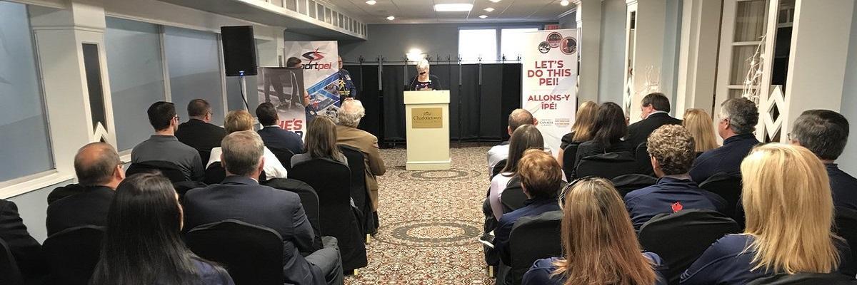 LE CONSEIL DES JEUX DU CANADA VISITE L'ÎLE-DU-PRINCE-ÉDOUARD EN LICE POUR LES JEUX DE 2023